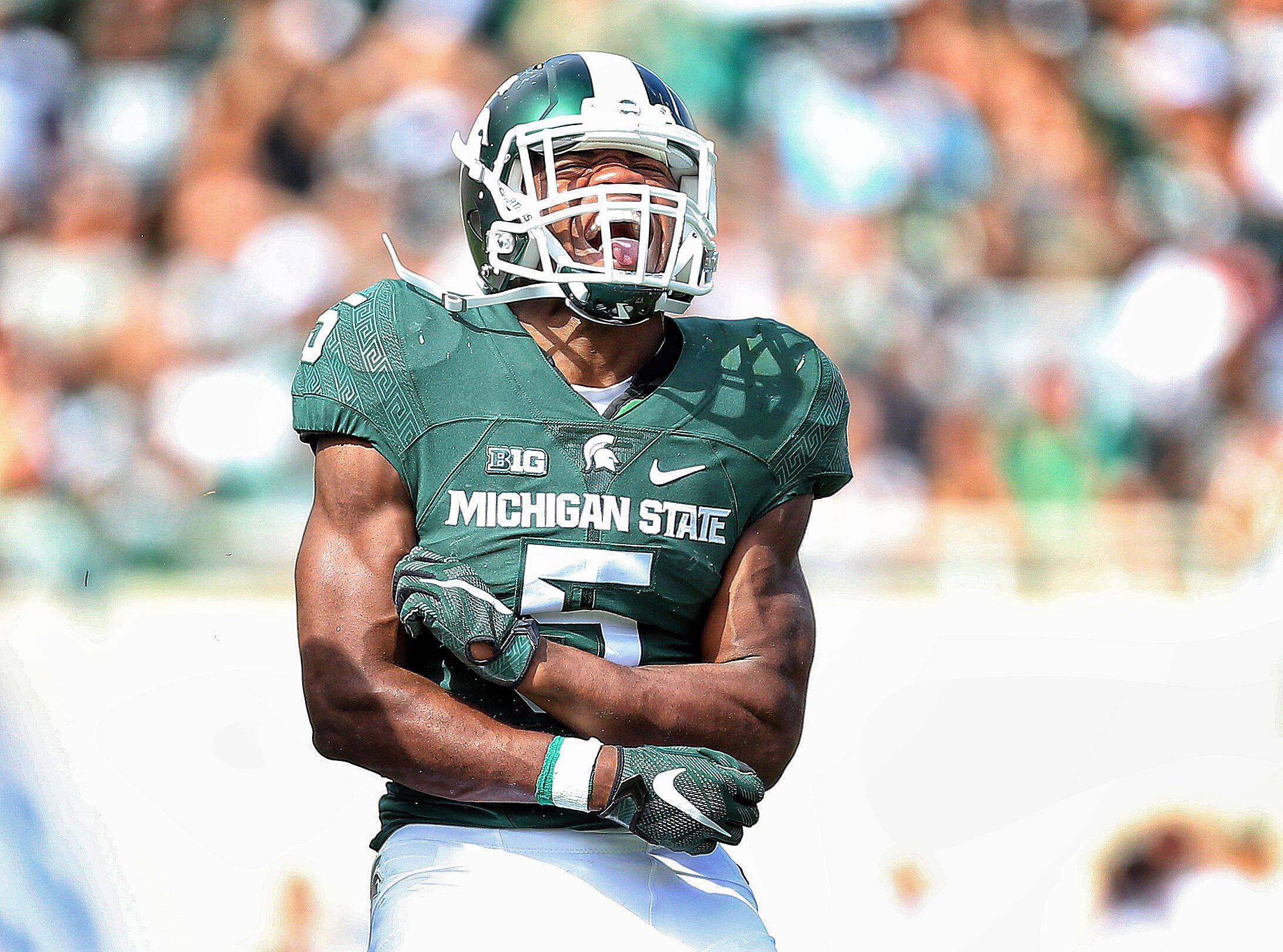 new concept 9aebf b78a2 Michigan State Football: Projected post-spring defensive ...