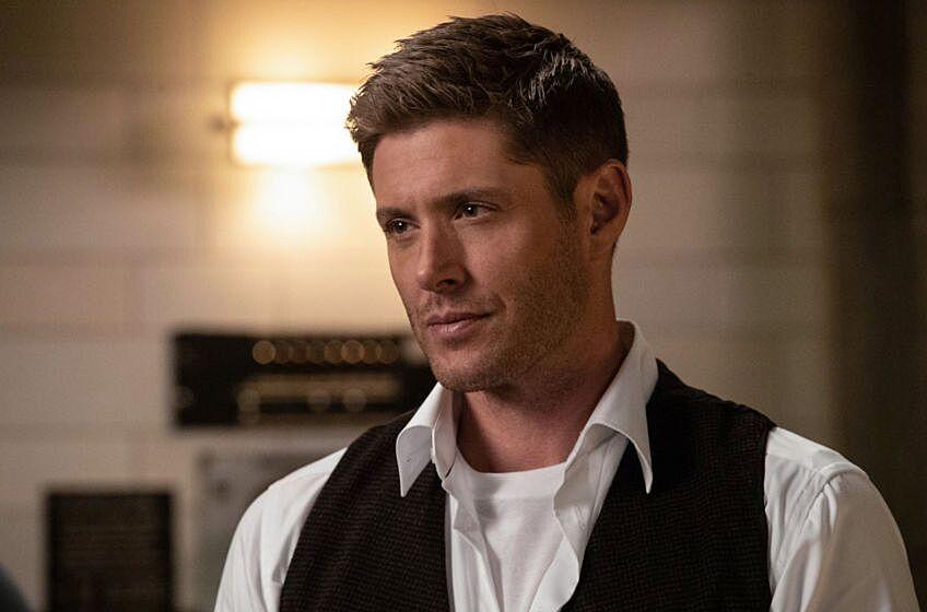 Jensen Ackles SPNVan SUpernatural Season 14