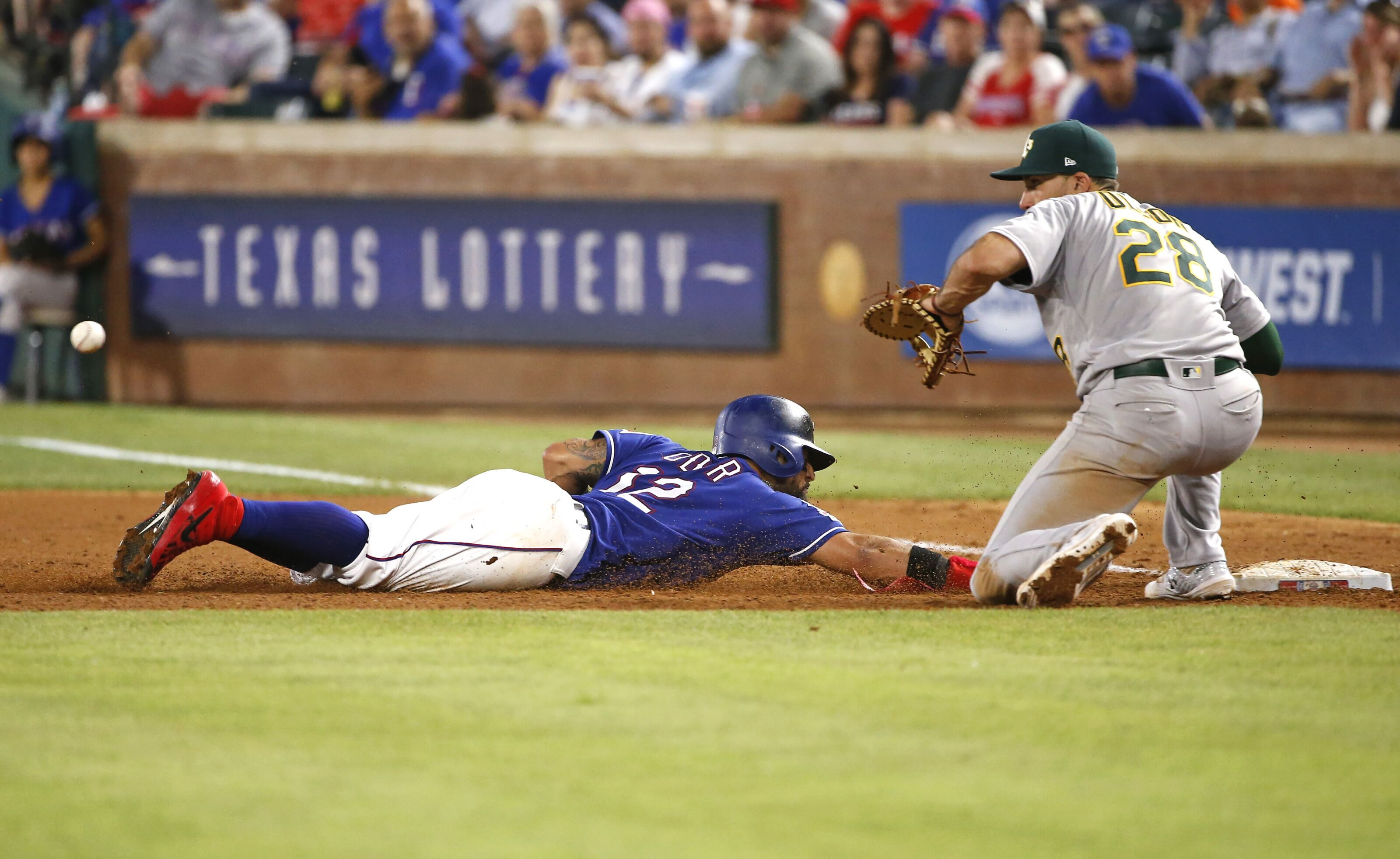 How the Texas Rangers let a crucial series slip away