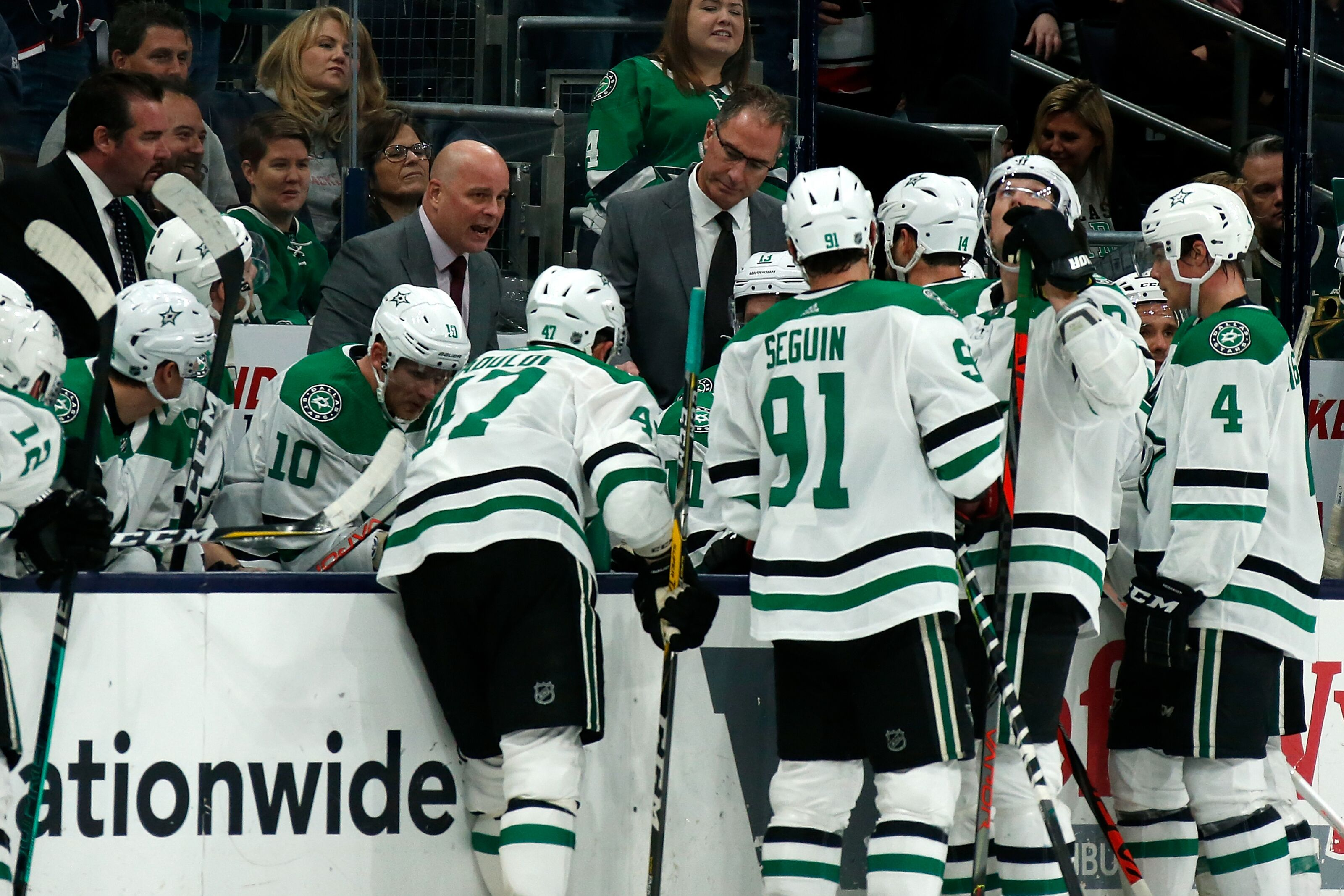 Dallas Stars: Montgomery pushes buttons, team responds