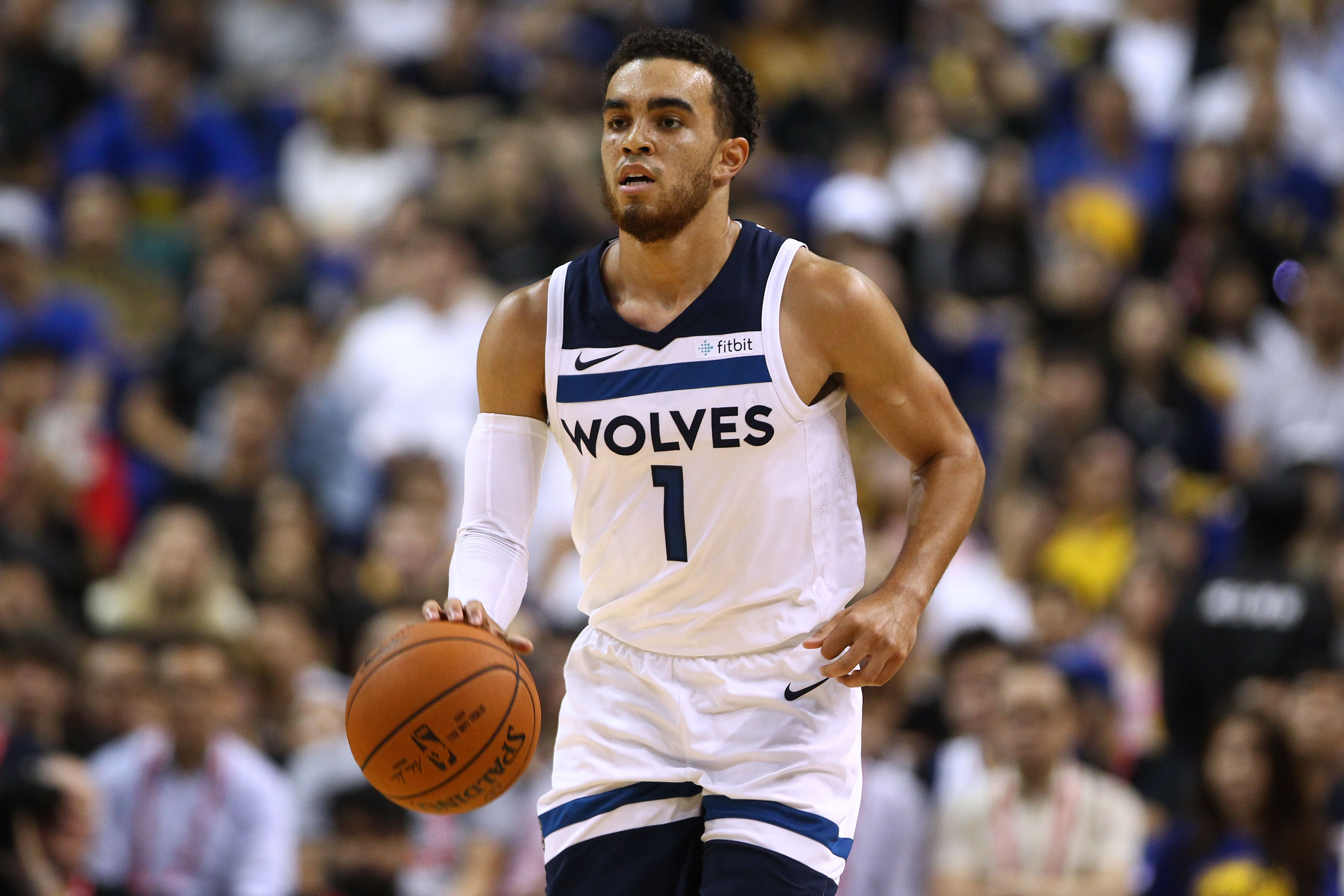 Should the Minnesota Timberwolves stick with Tyus Jones at point guard  74611f7cc
