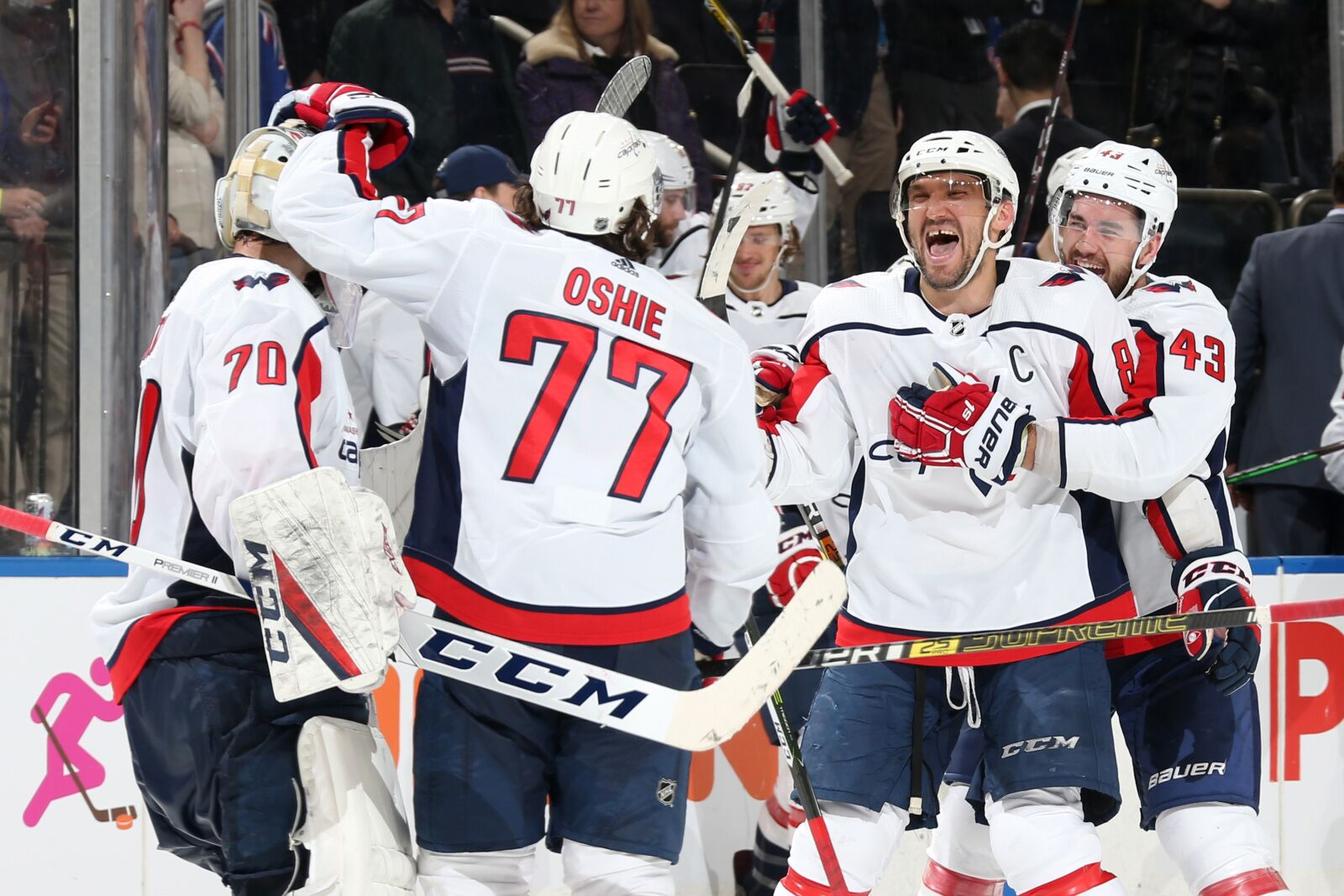 1a9a2cdd449 Washington Capitals Defeat New York Rangers 3-2 Sunday Afternoon in a  Shootout