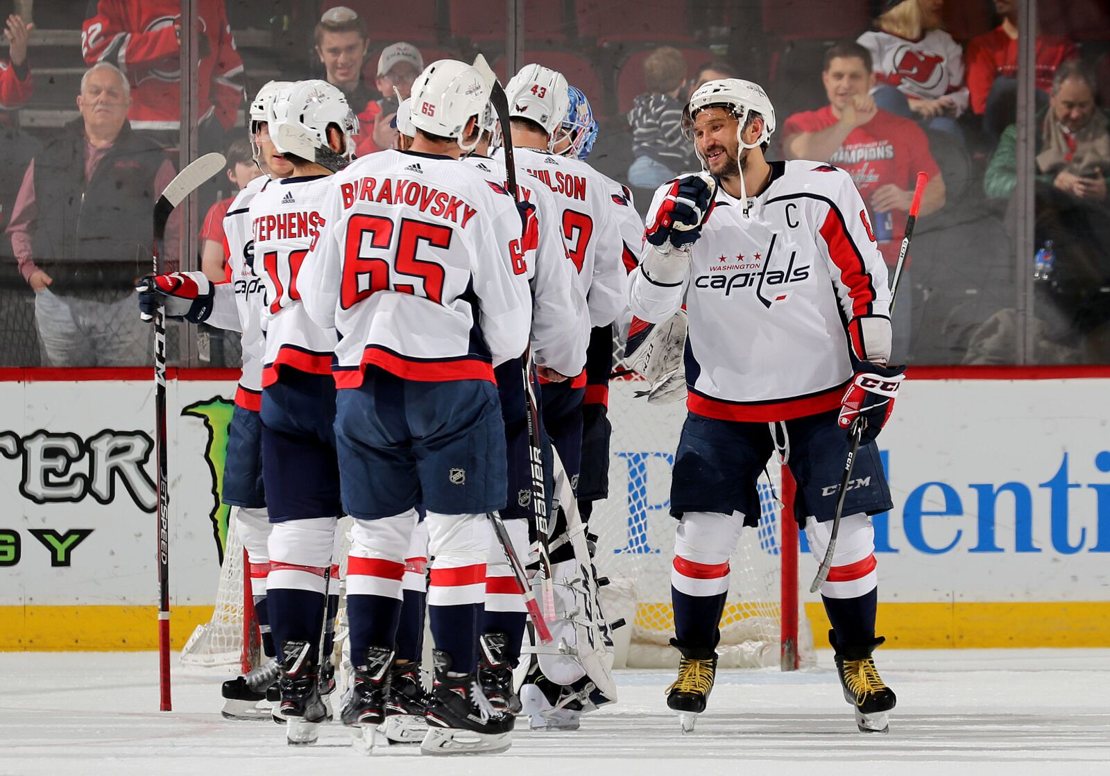 3237d94ec44 Washington Capitals  Three Second Period Goals was the Difference in Win  Over Devils