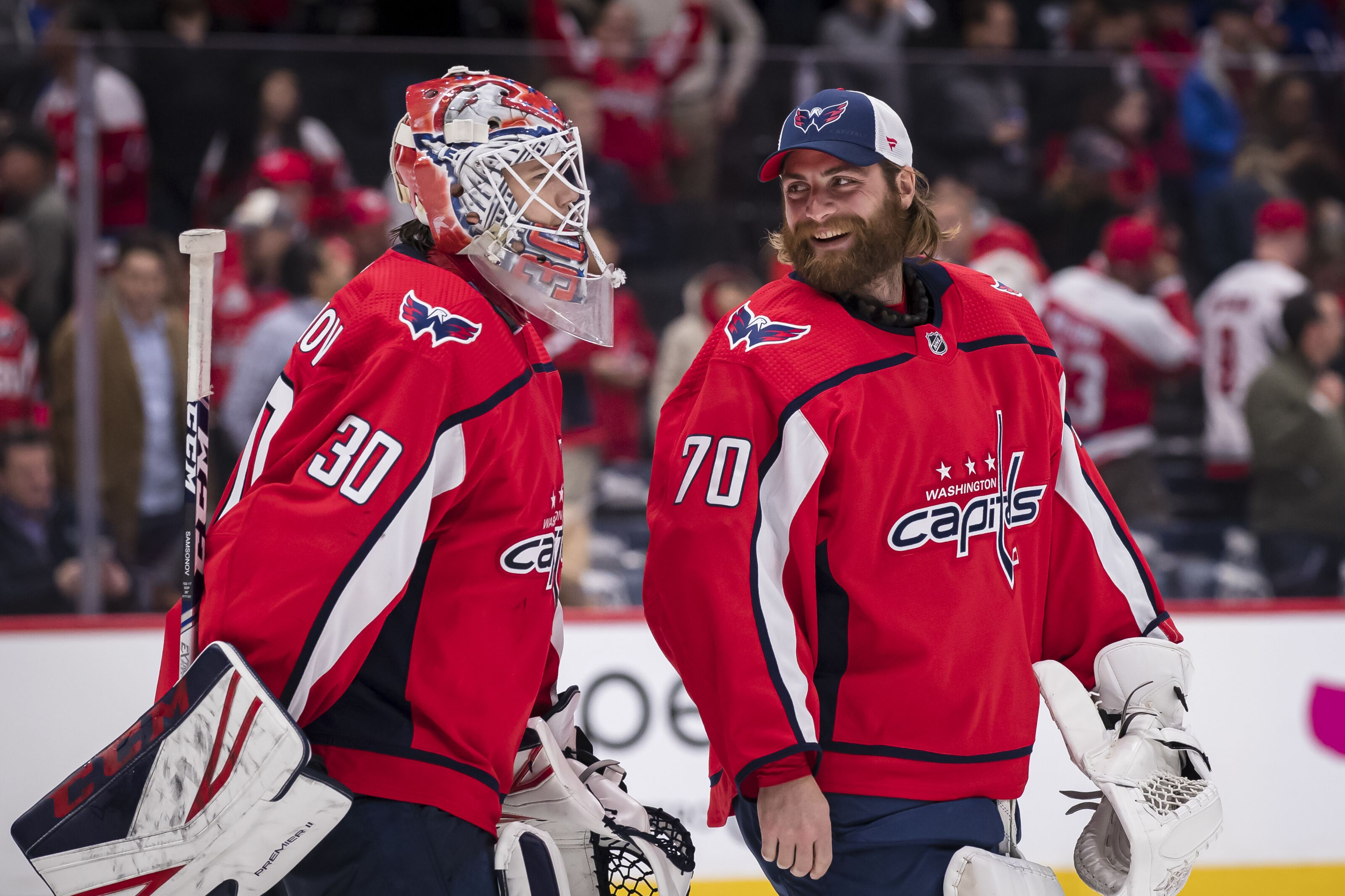 How Well Are The Capitals Goalies Playing This Season?
