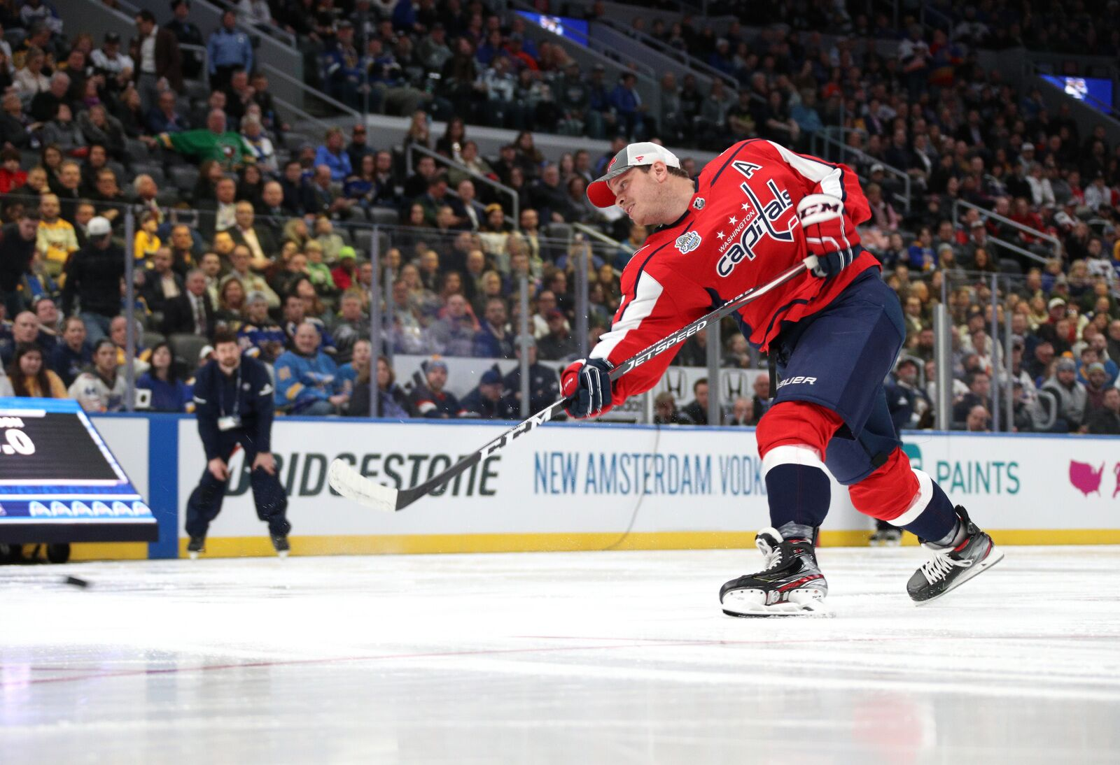 Capitals compete in NHL All Star Skills competition