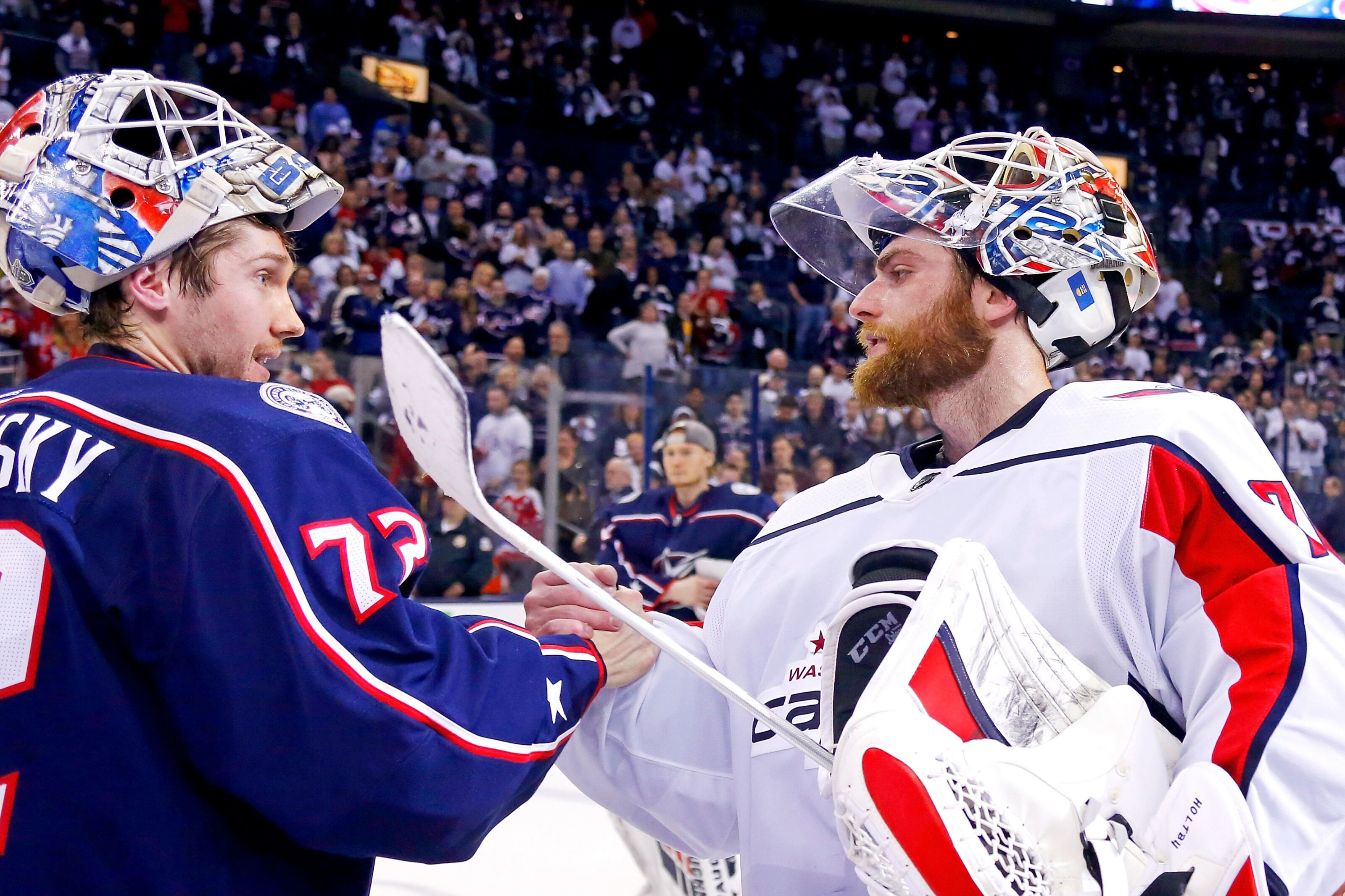 87a4af42 Washington Capitals: What we can learn about Braden Holtby from Sergei  Bobrovsky's contract