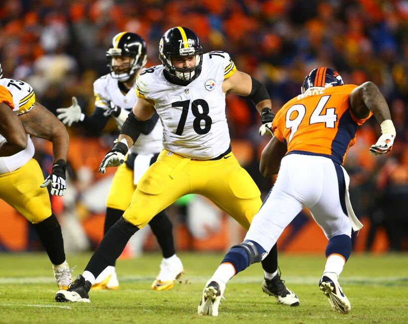 24a4e01e4b7 Steelers Training Camp Battles: Villanueva vs. Harris