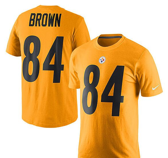 59fbccef2 Antonio Brown Pittsburgh Steelers The Northwest Company 50″ X 60″ Silk  Touch Throw