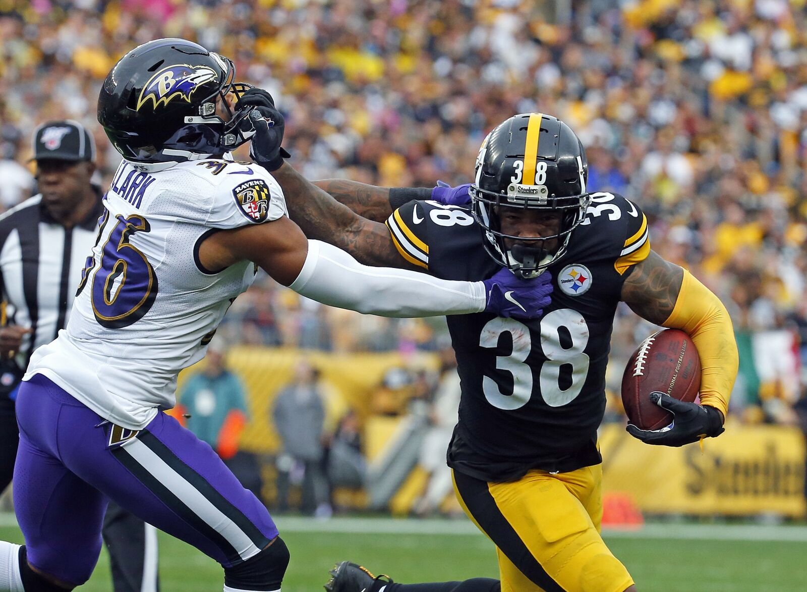 Steelers RB Jaylen Samuels could be the odd man out next season