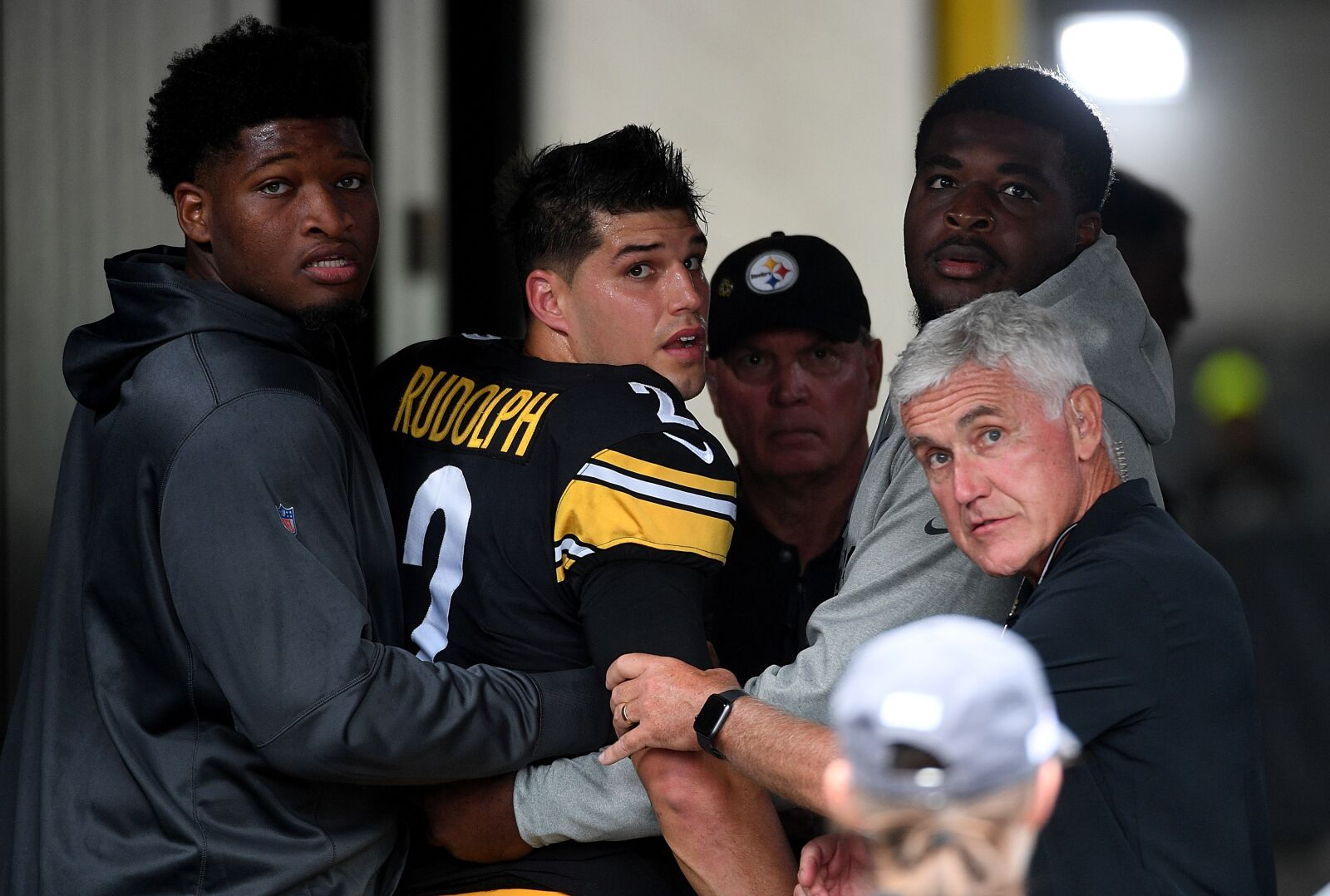 Steelers QB Mason Rudolph admits to having no memory of the hit that left him unconscious