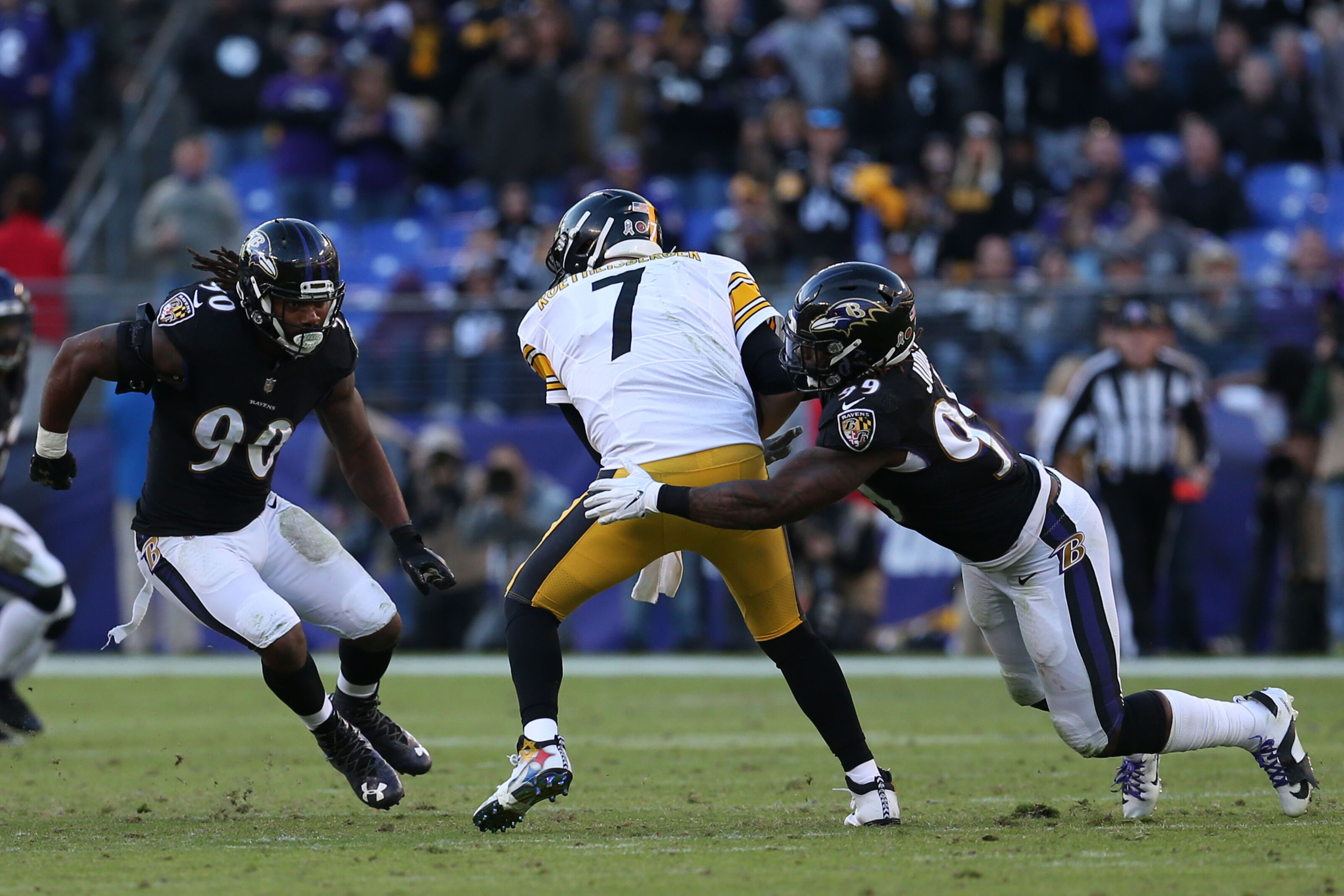 Baltimore Ravens earn AFC North title with win over