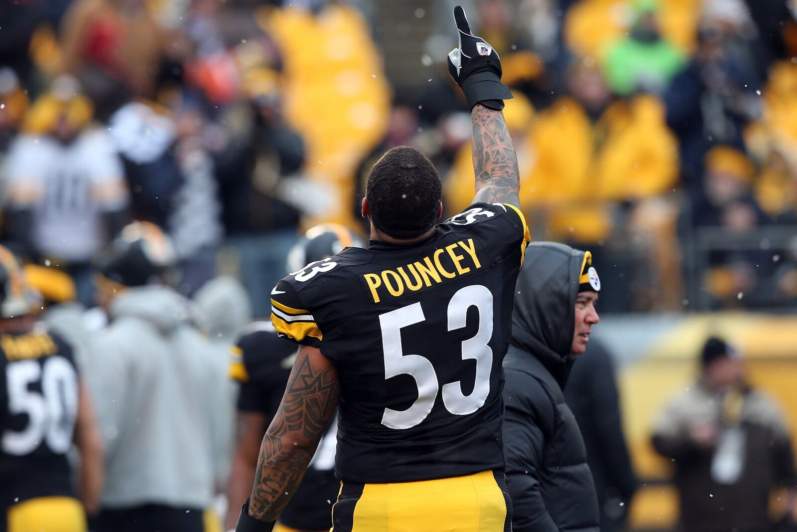 Steelers center Maurkice Pouncey refreshed after two-game suspension