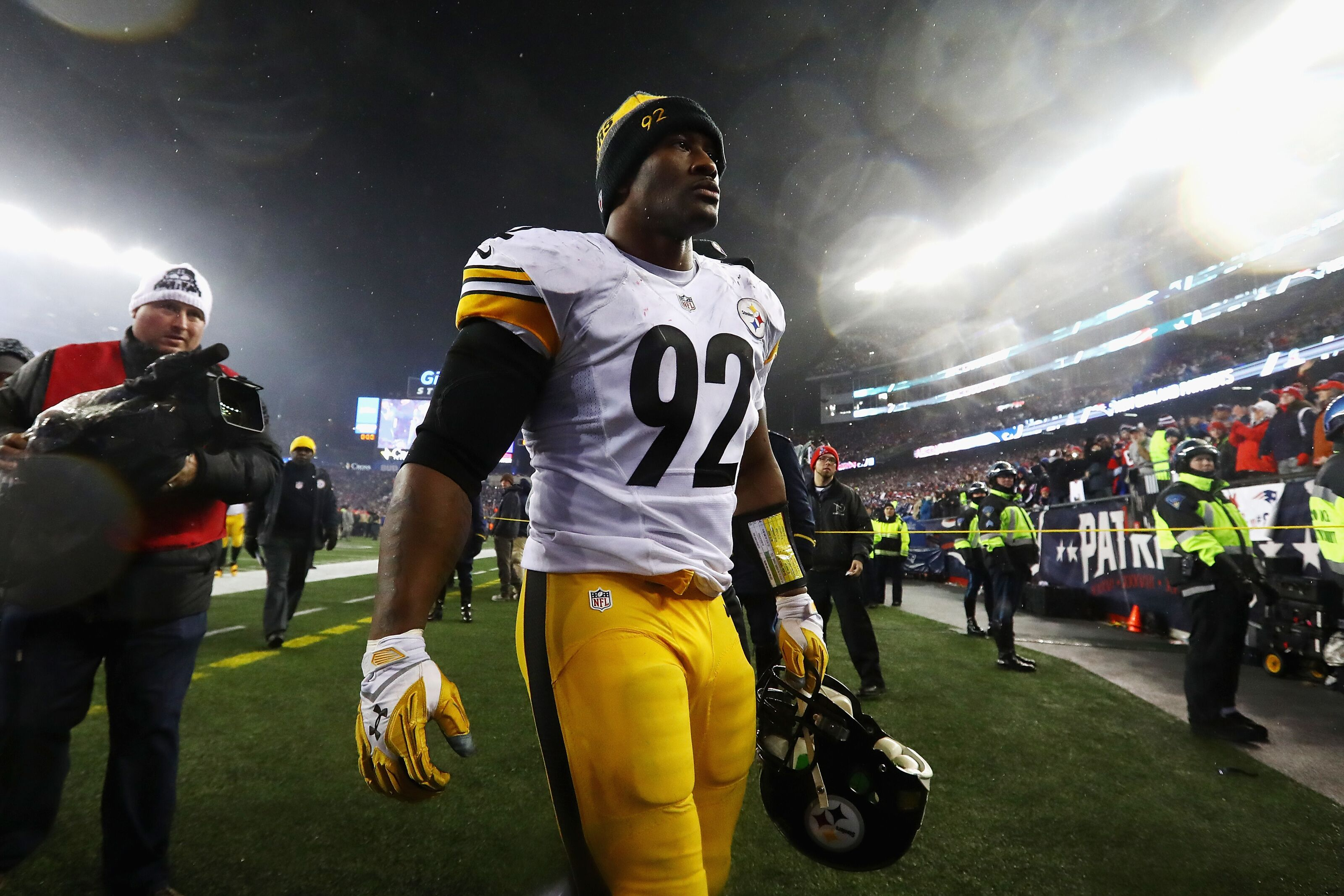 a1edd7f36 Pittsburgh Steelers  James Harrison s comments indicate where problem lays  on defense