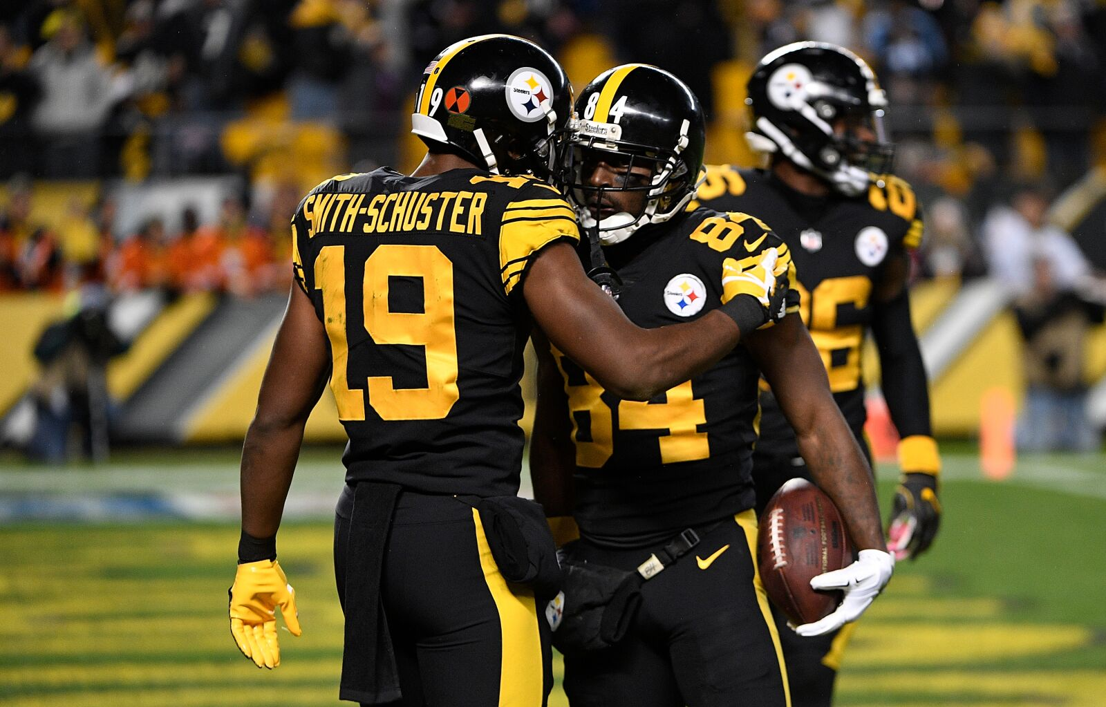 94870f6c2 The Pittsburgh Steelers passing game has new faces