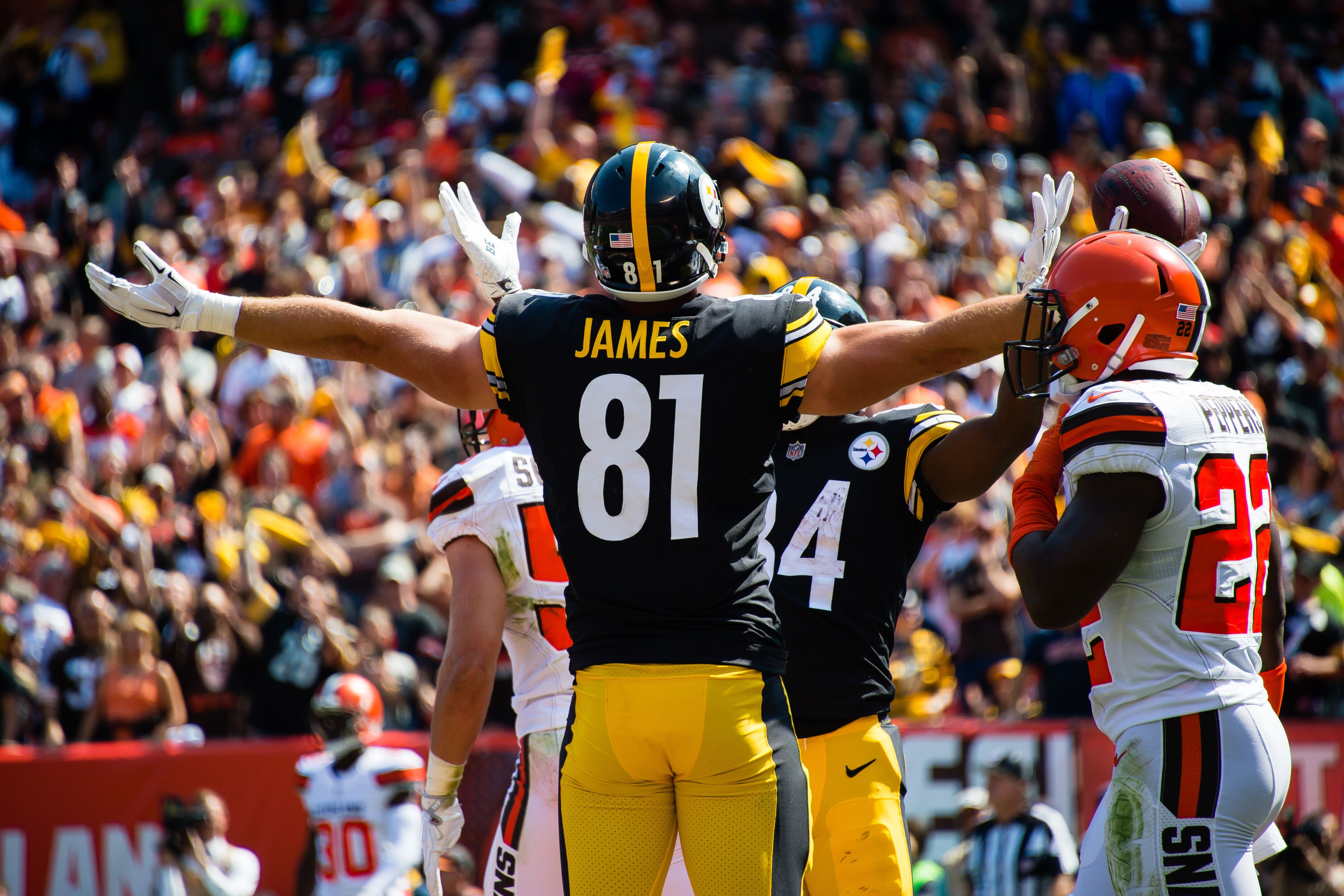 new styles a99c7 6096b Pittsburgh Steelers won't draft a TE because they like Jesse ...
