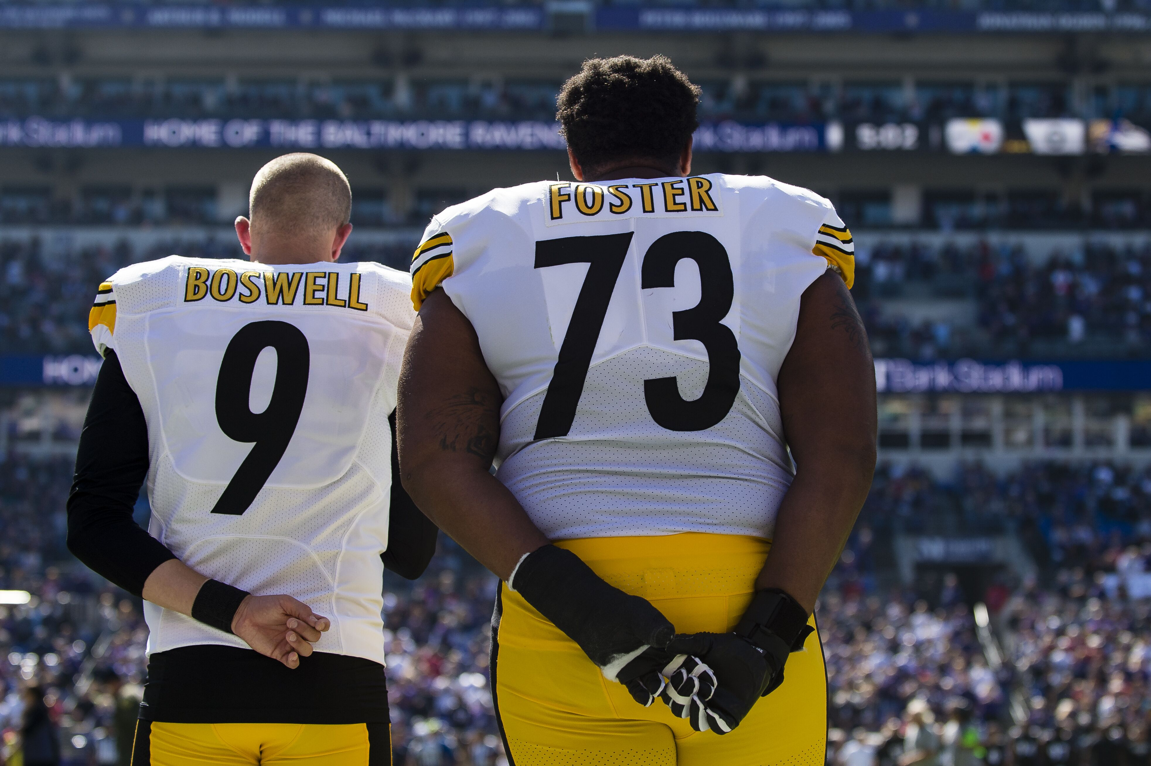 official photos e5f07 962ae Ramon Foster says Steelers locker room drama isn't as big as ...