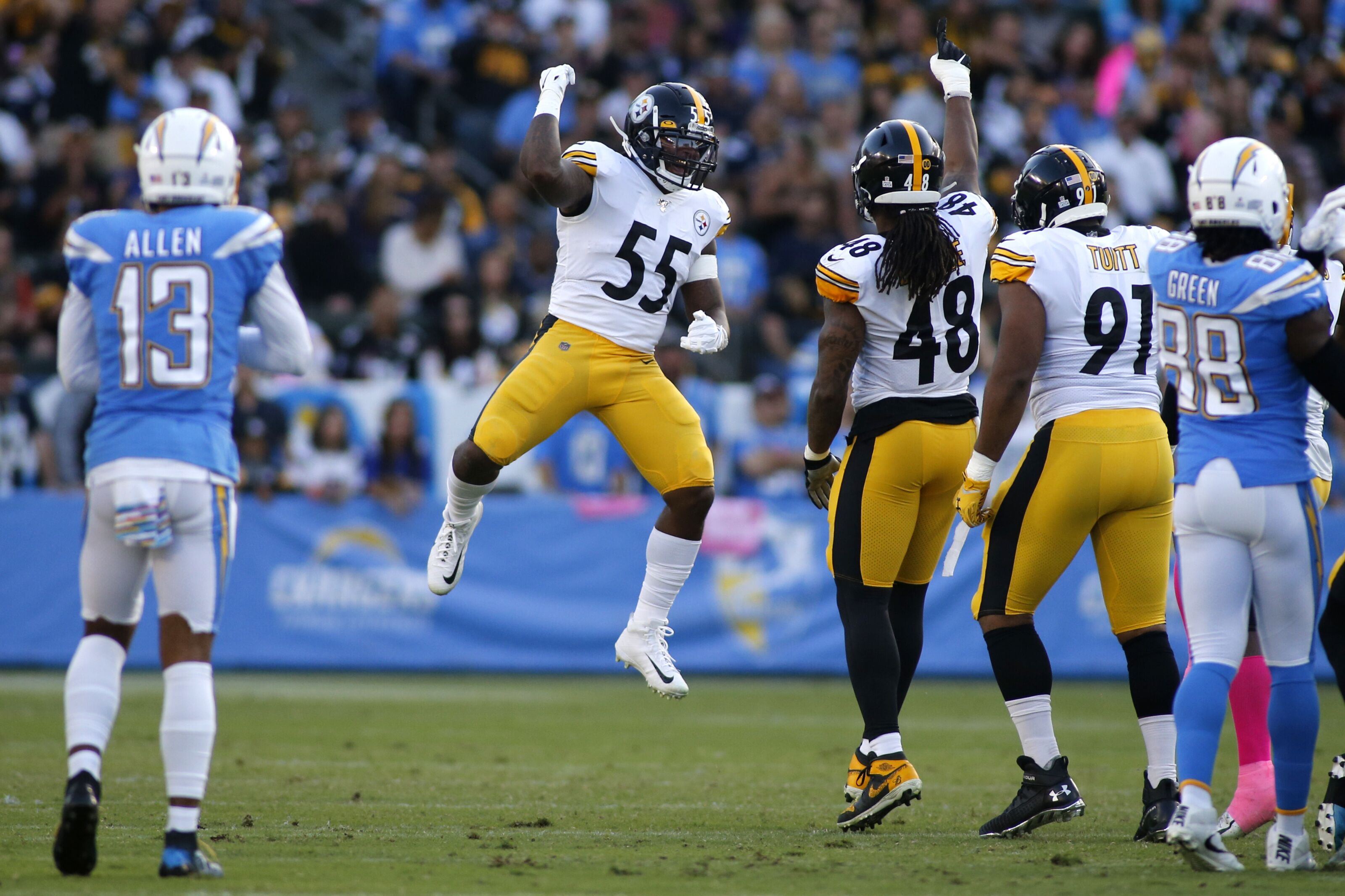 Steelers stock rising/falling following win in Los Angeles