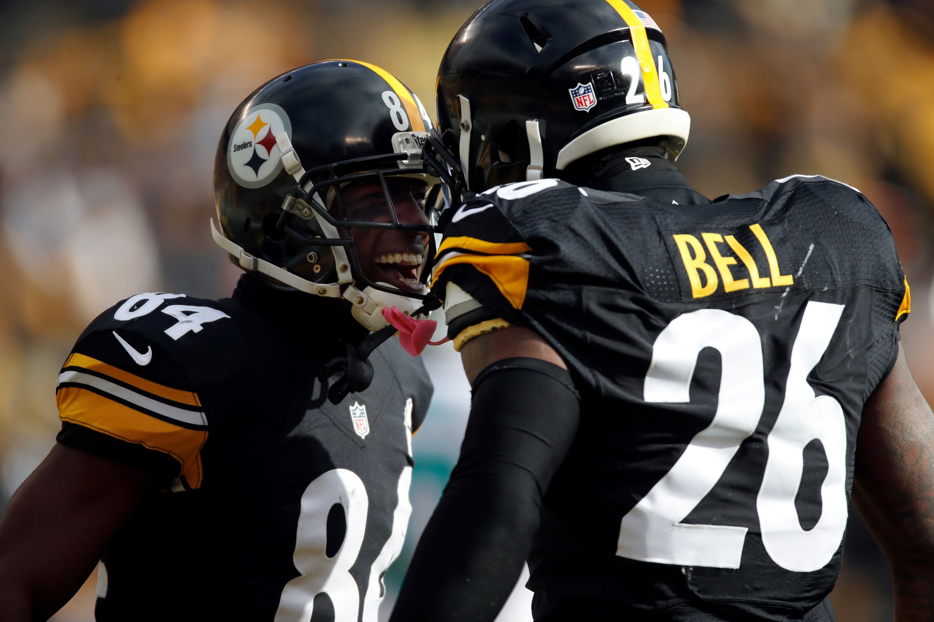 The Pittsburgh Steelers sit in uncharted waters with Antonio Brown, Le'Veon Bell