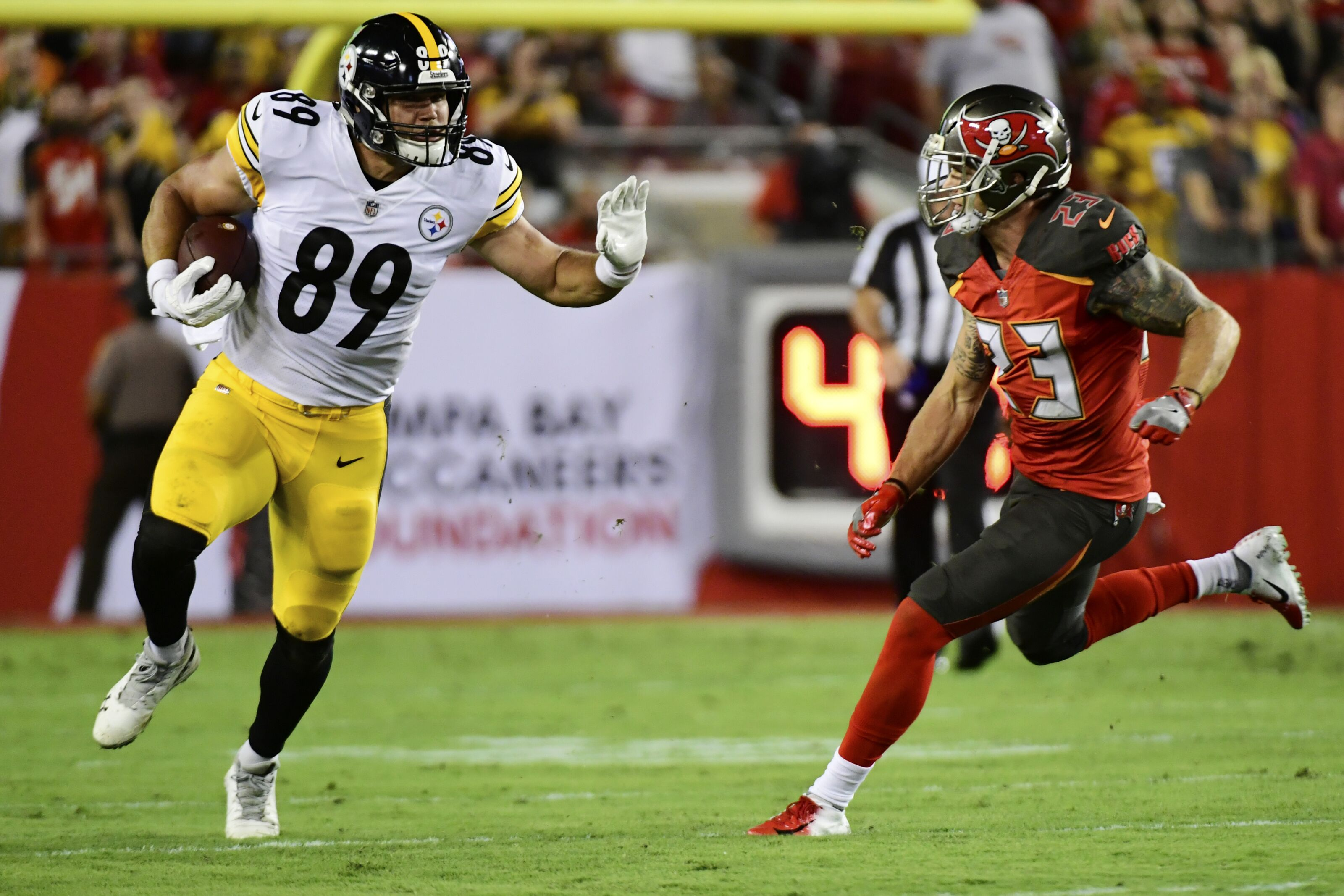 buy online a08d0 a46d2 Steelers are counting on tight end Vance McDonald in 2019
