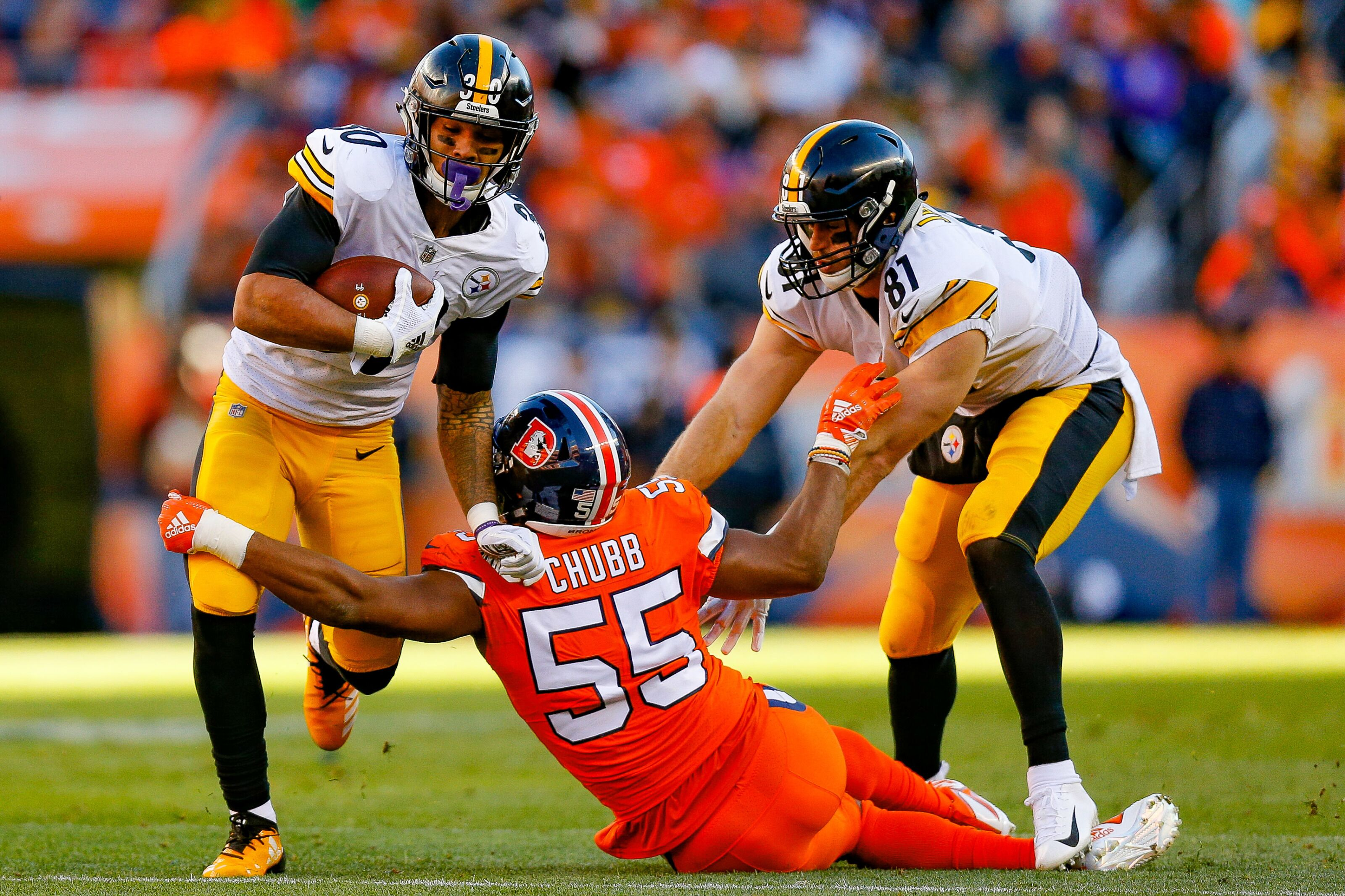 Pittsburgh Steelers  3 miscues that led to the loss in Denver 6f20eb651