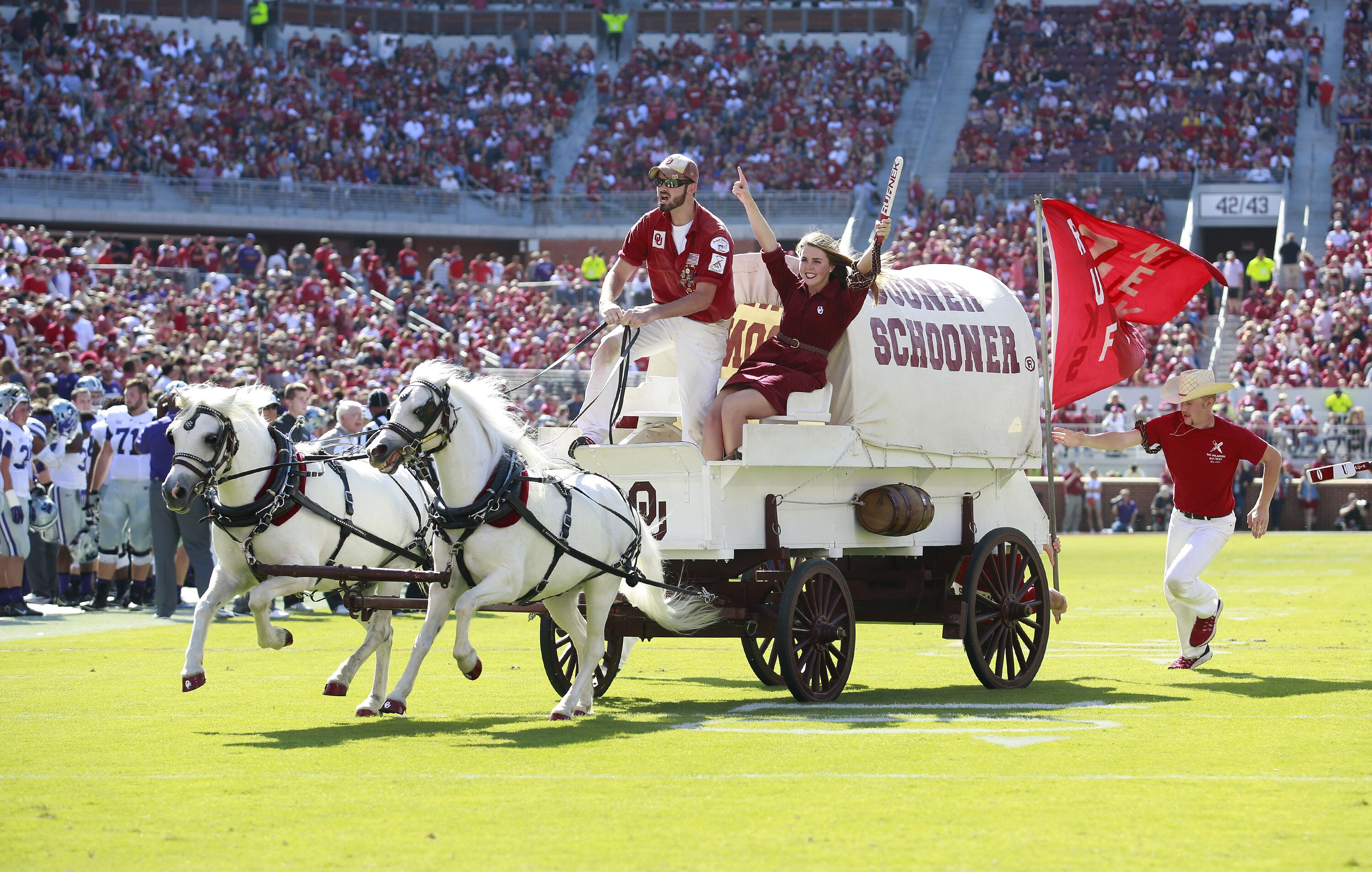 Oklahoma football: Sooners take over game in 2nd half for ...