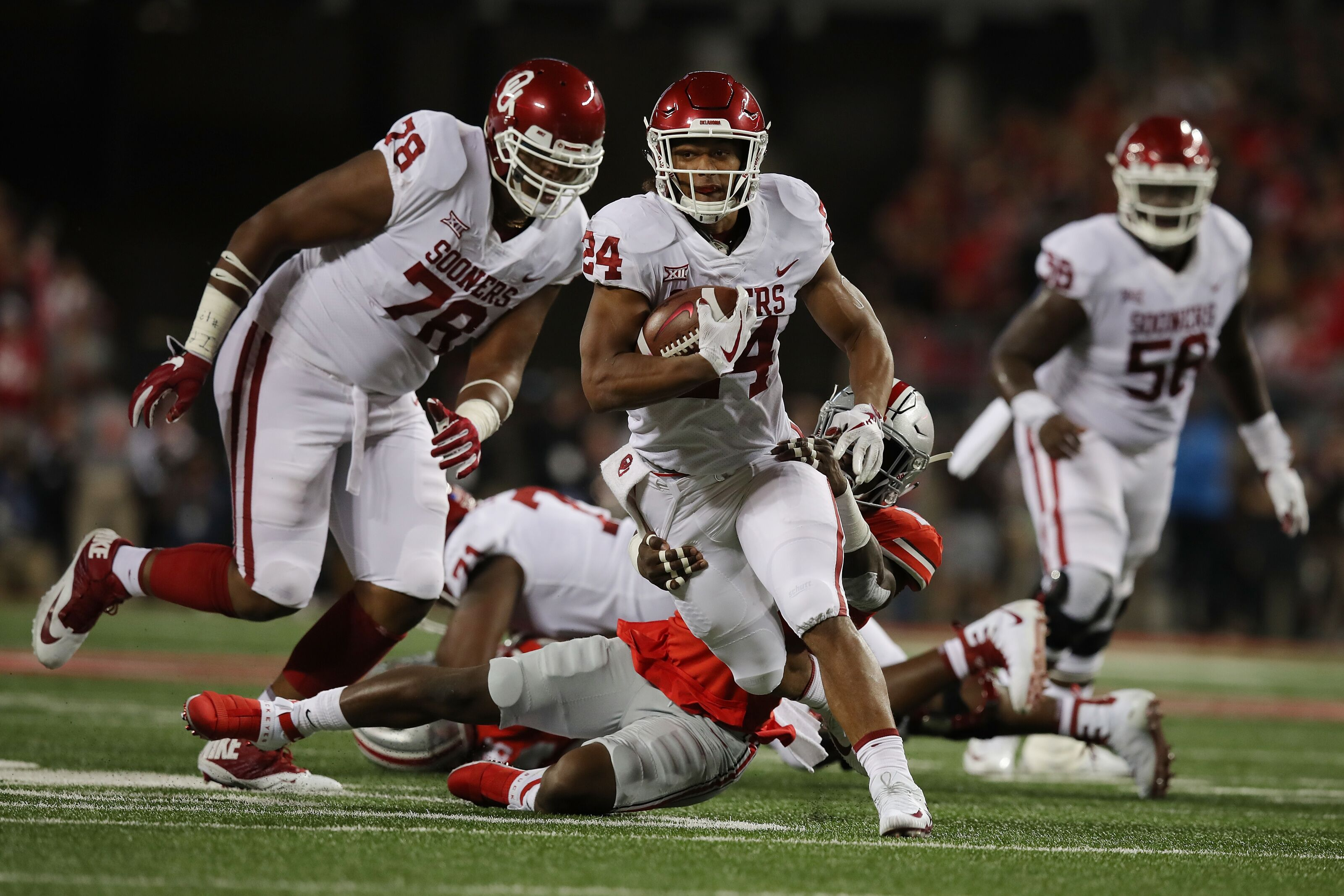 Oklahoma football throwback: What's the biggest rushing game in OU history?