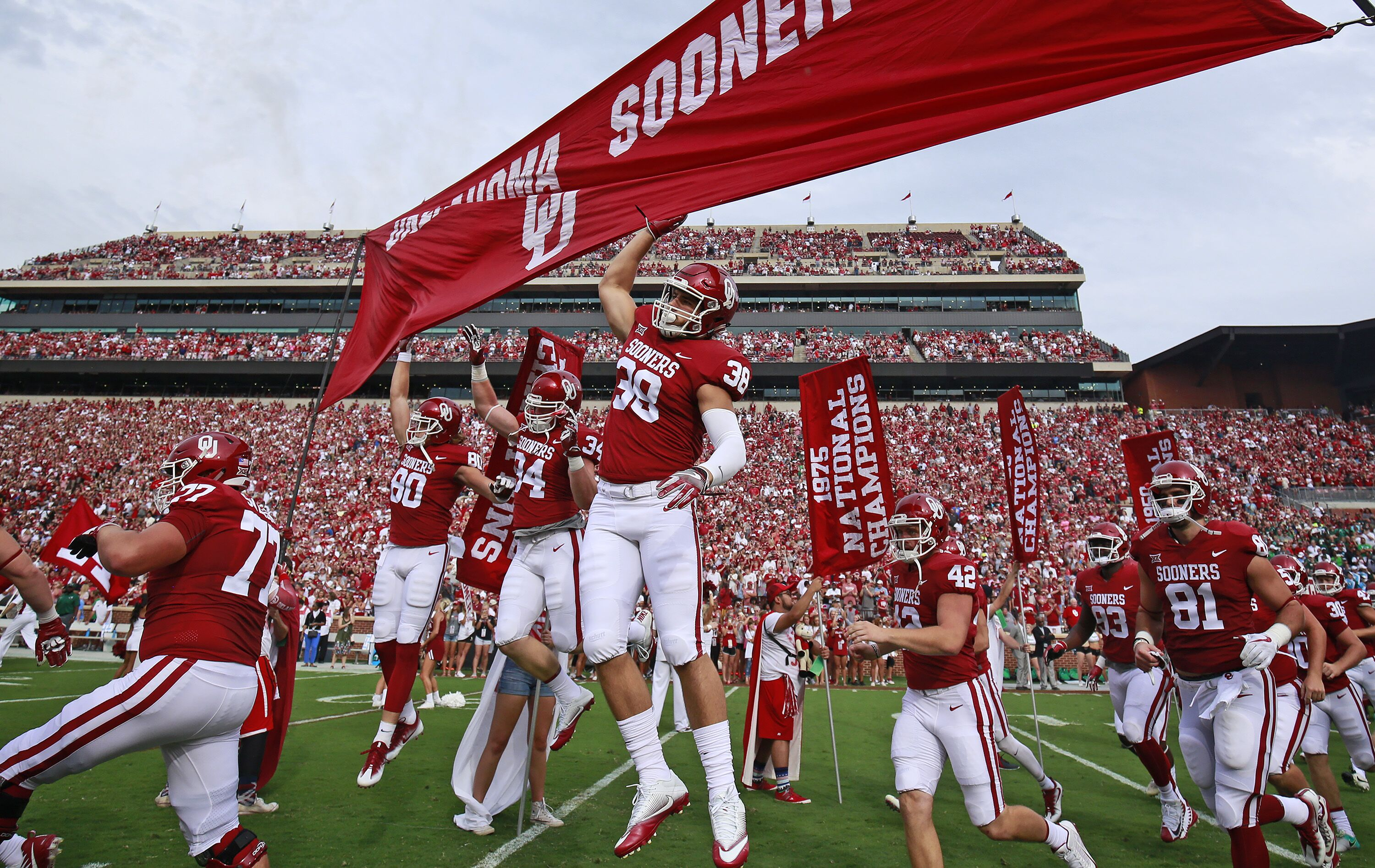 Oklahoma Football Sooners 2018 Schedule Loaded With 10 Bowl Teams