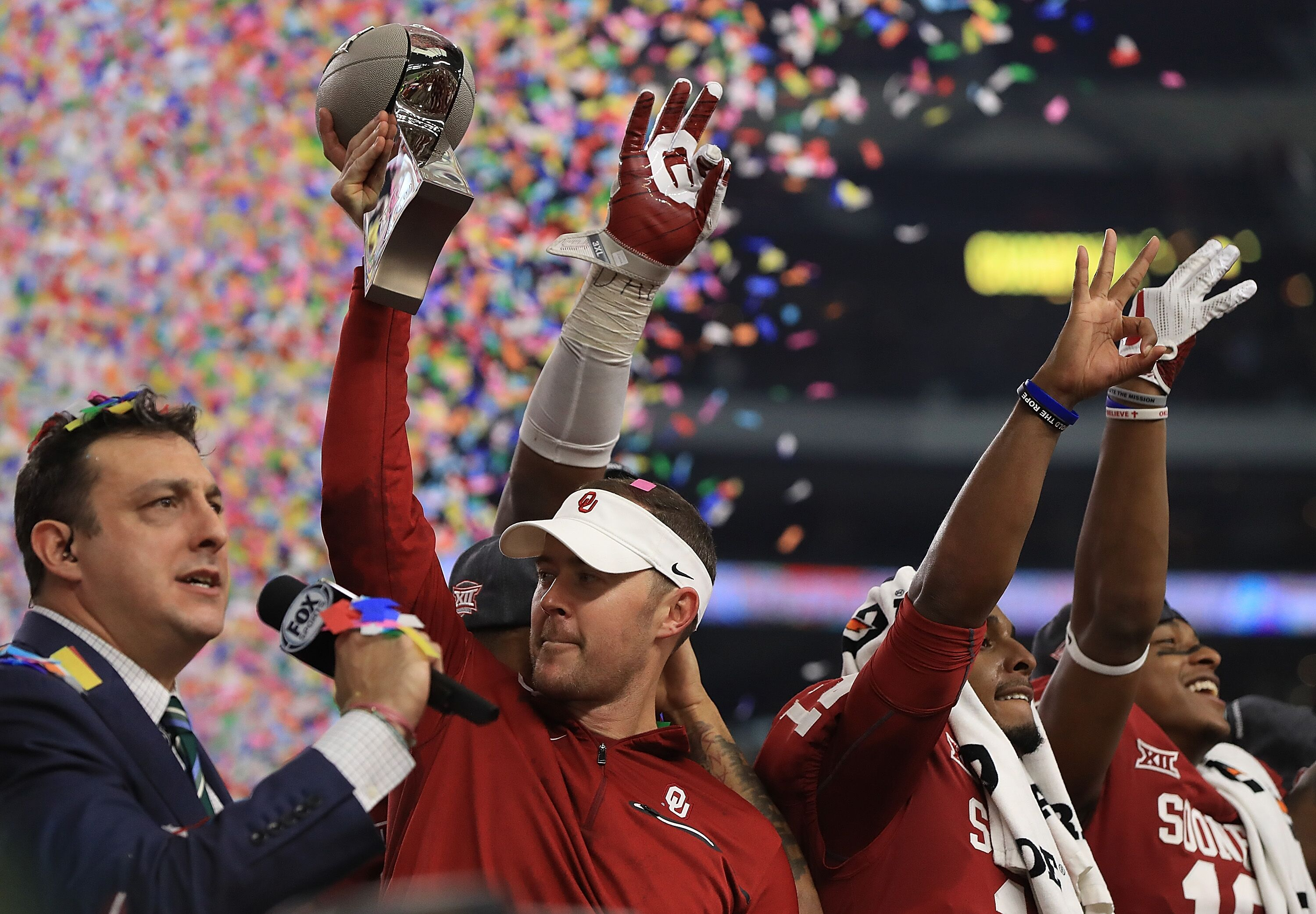 Oklahoma football: Riley doesn't see offense 'dipping' in 2019