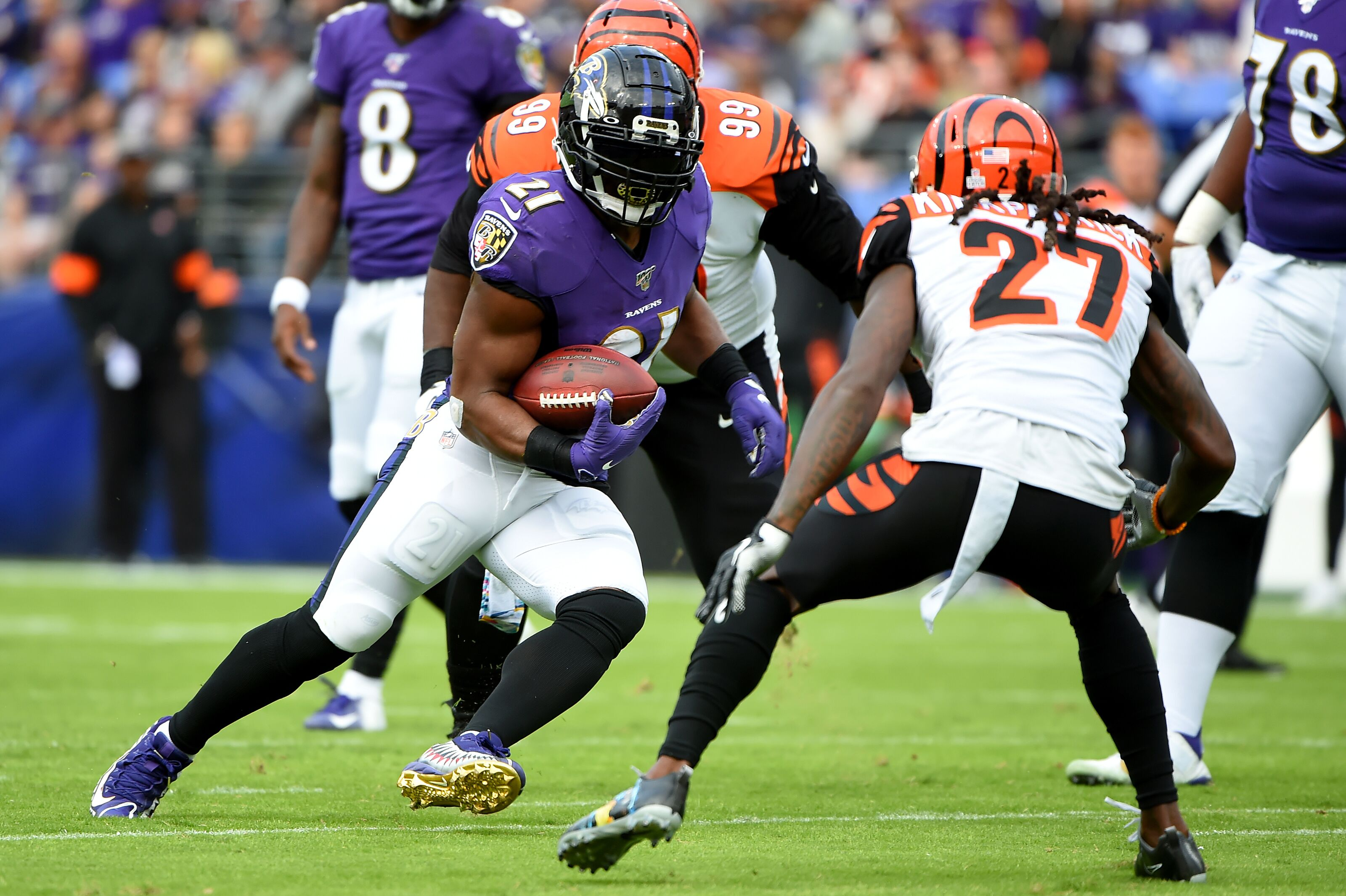Lamar Jackson has a huge day as Bengals lose their sixth straight, 23-17 at Baltimore