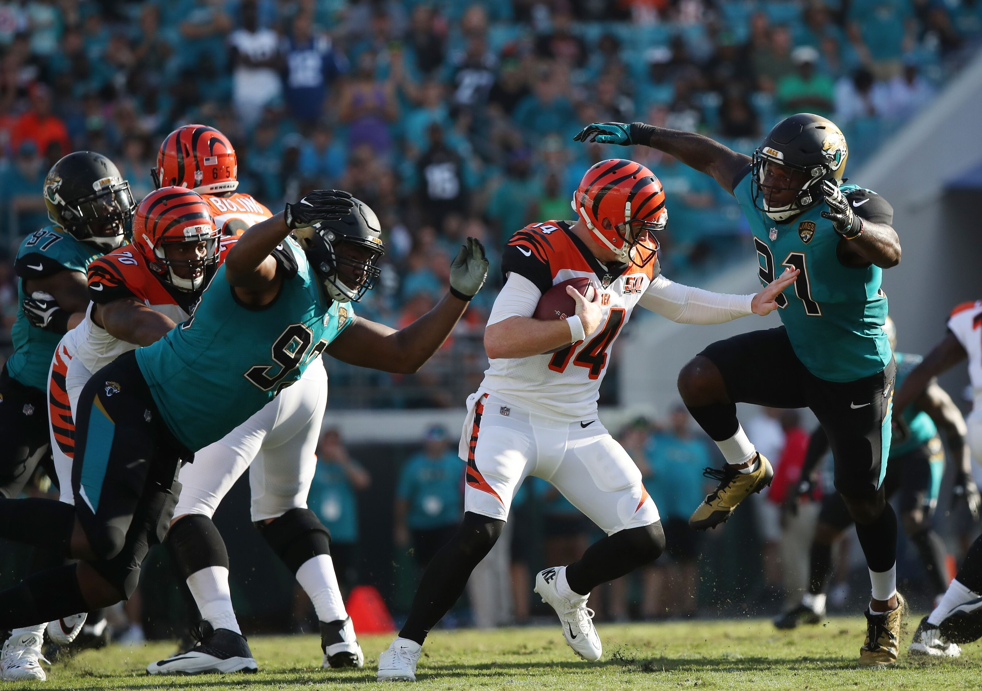 Cincinnati Bengals: 5 Questions About the Jaguars With Black and Teal