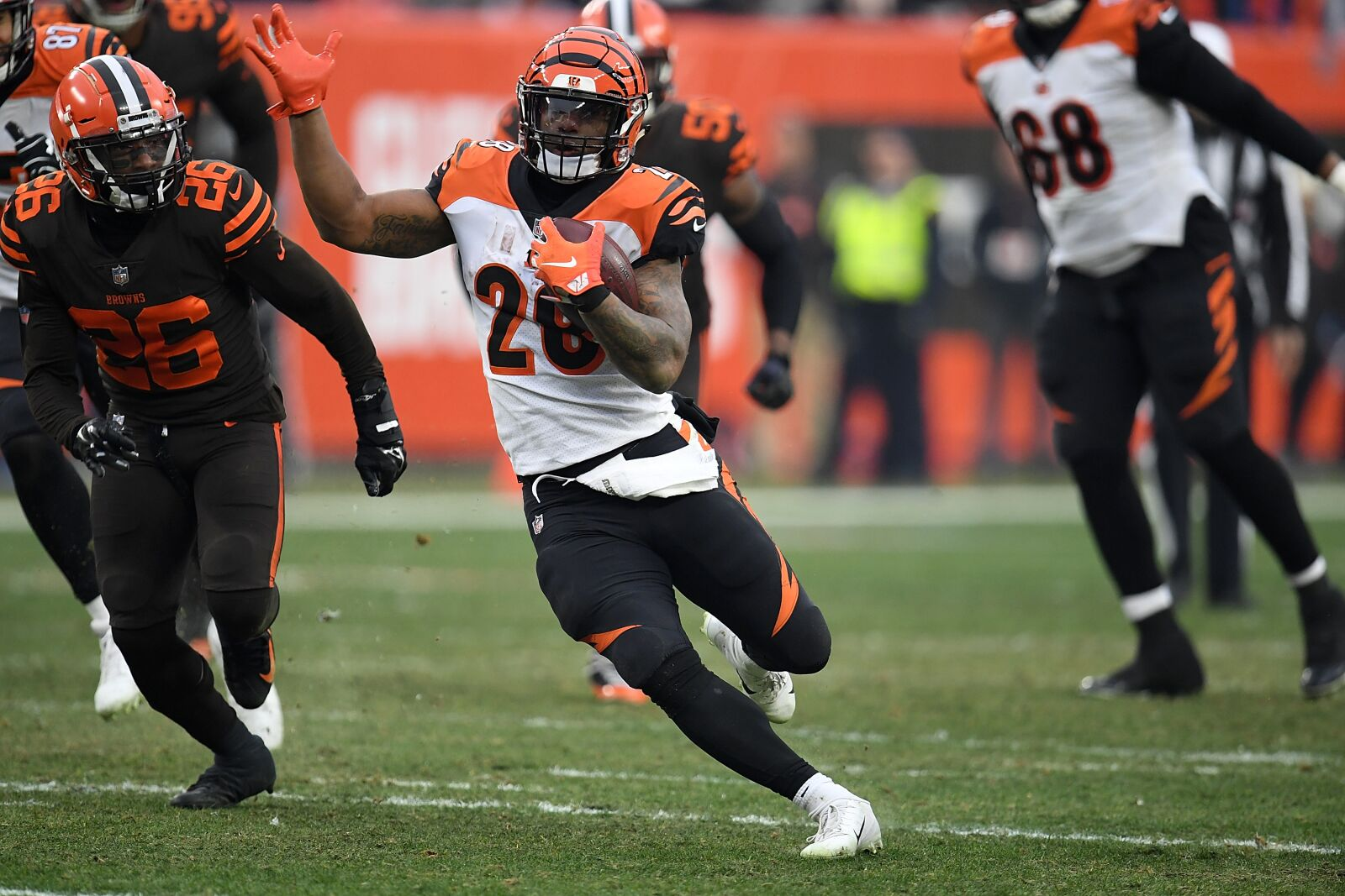 Cincinnati Bengals: Joe Mixon will be the face of the offense in 2019