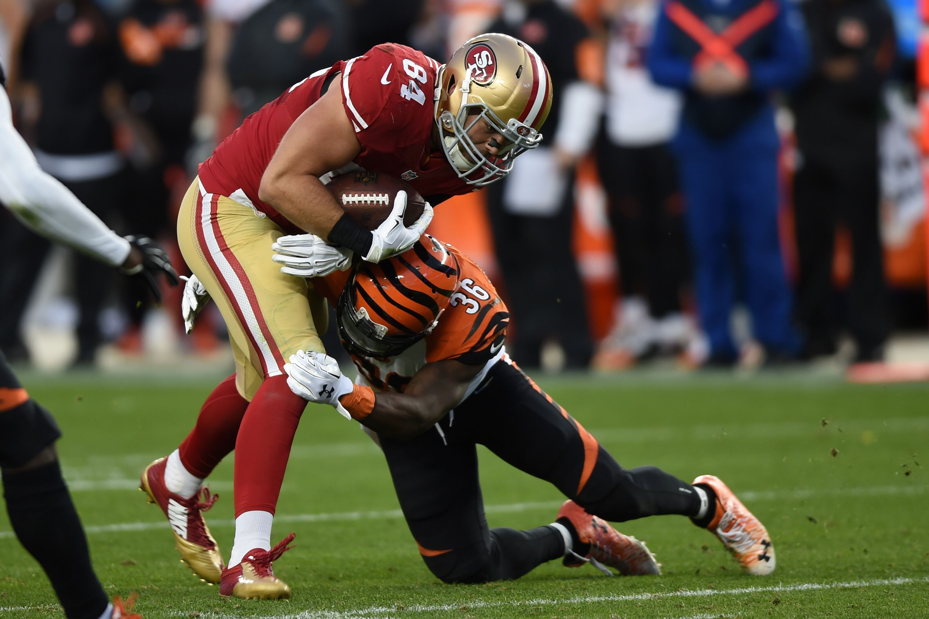 Bengals/49ers roster mash-up: Offense