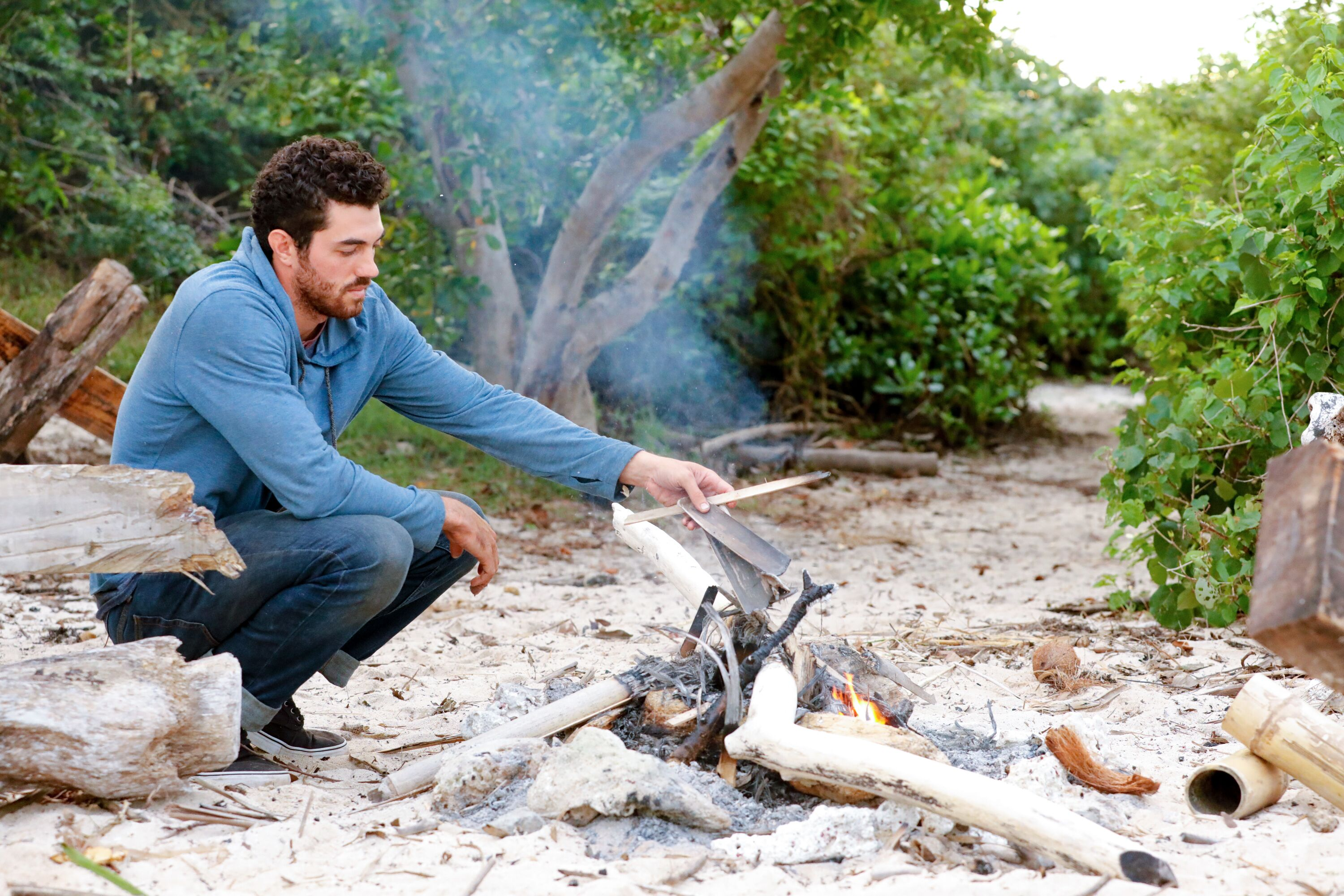 Survivor Edge of Extinction: Was the fire-making decision a difficult choice?