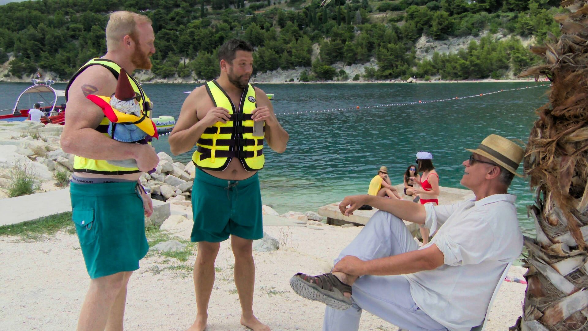 Survivor's Bret LaBelle can't stop finding The Amazing Race 31's coins