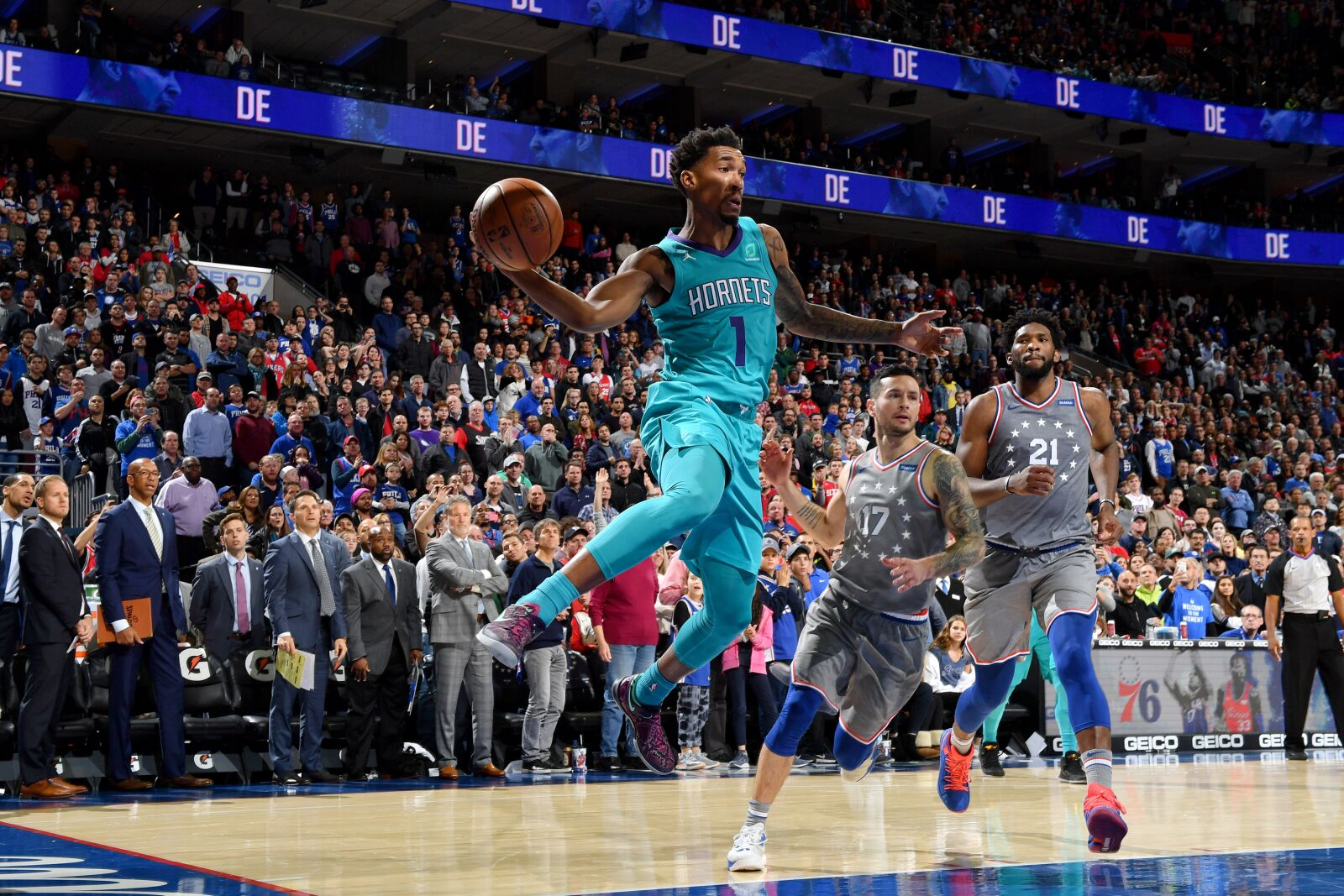 Charlotte Hornets to take on Philadelphia 76ers in Preseason