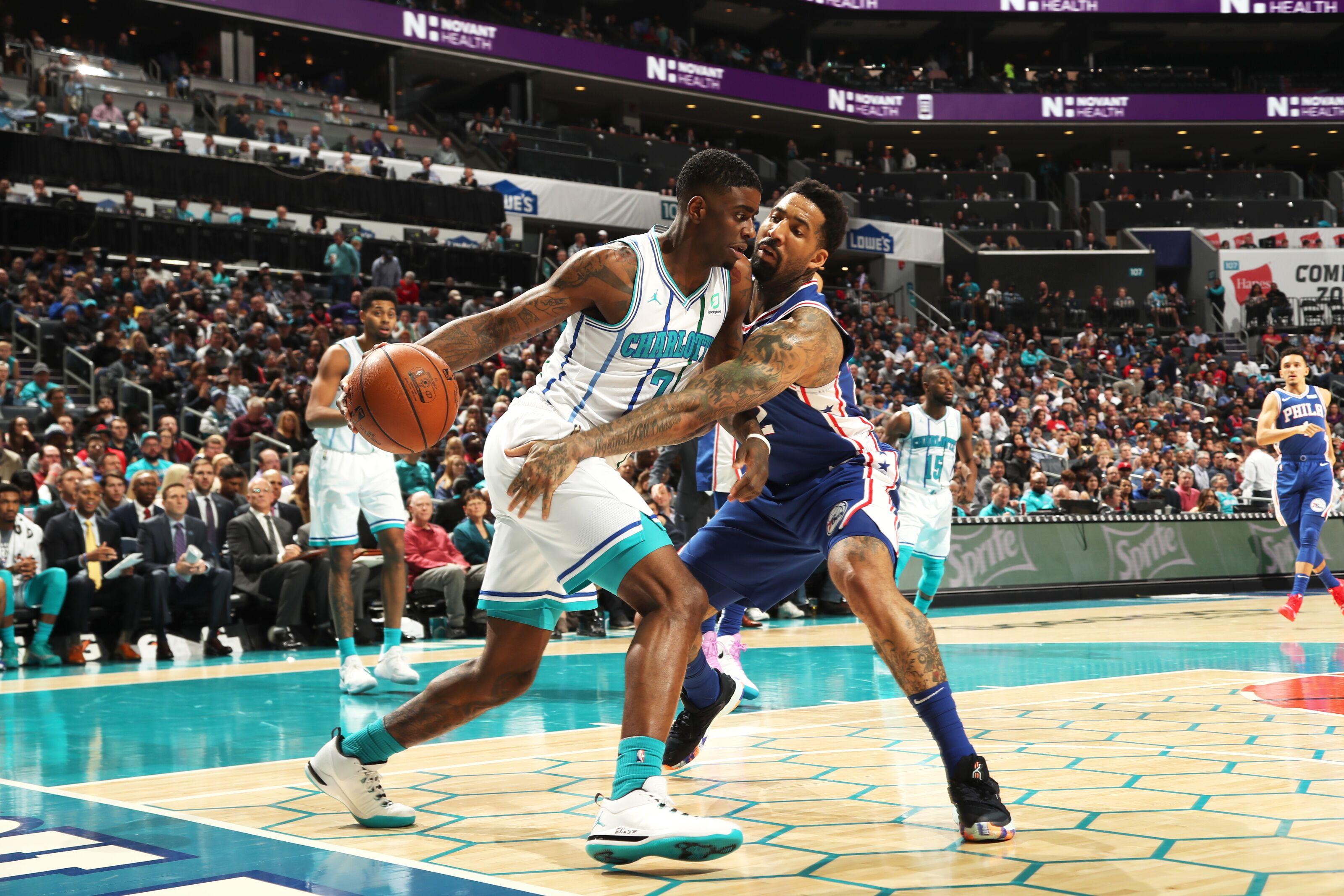 Charlotte Hornets return home to face the Philadelphia 76ers