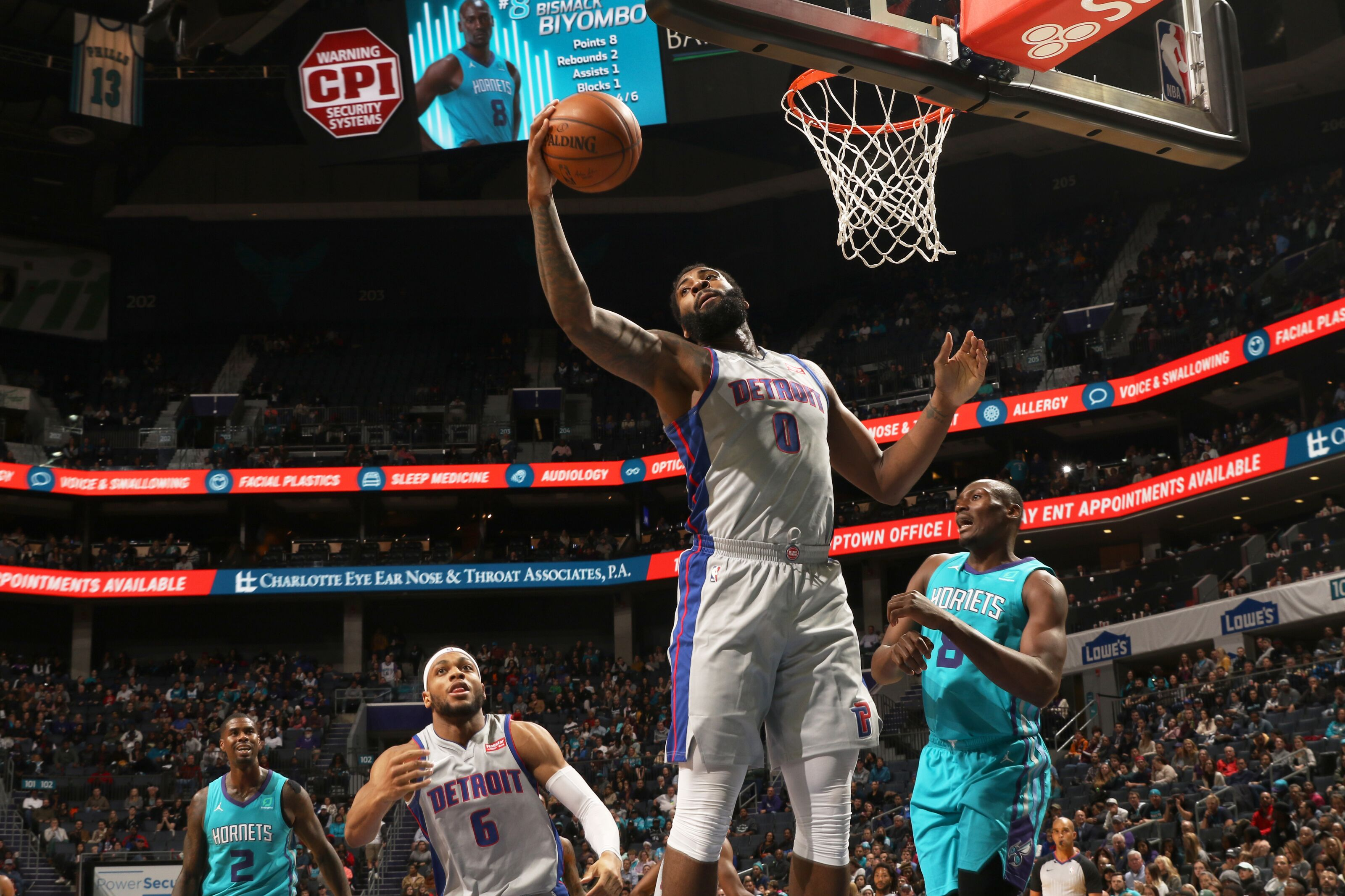 Charlotte Hornets Rumors: Long interest in Andre Drummond continues