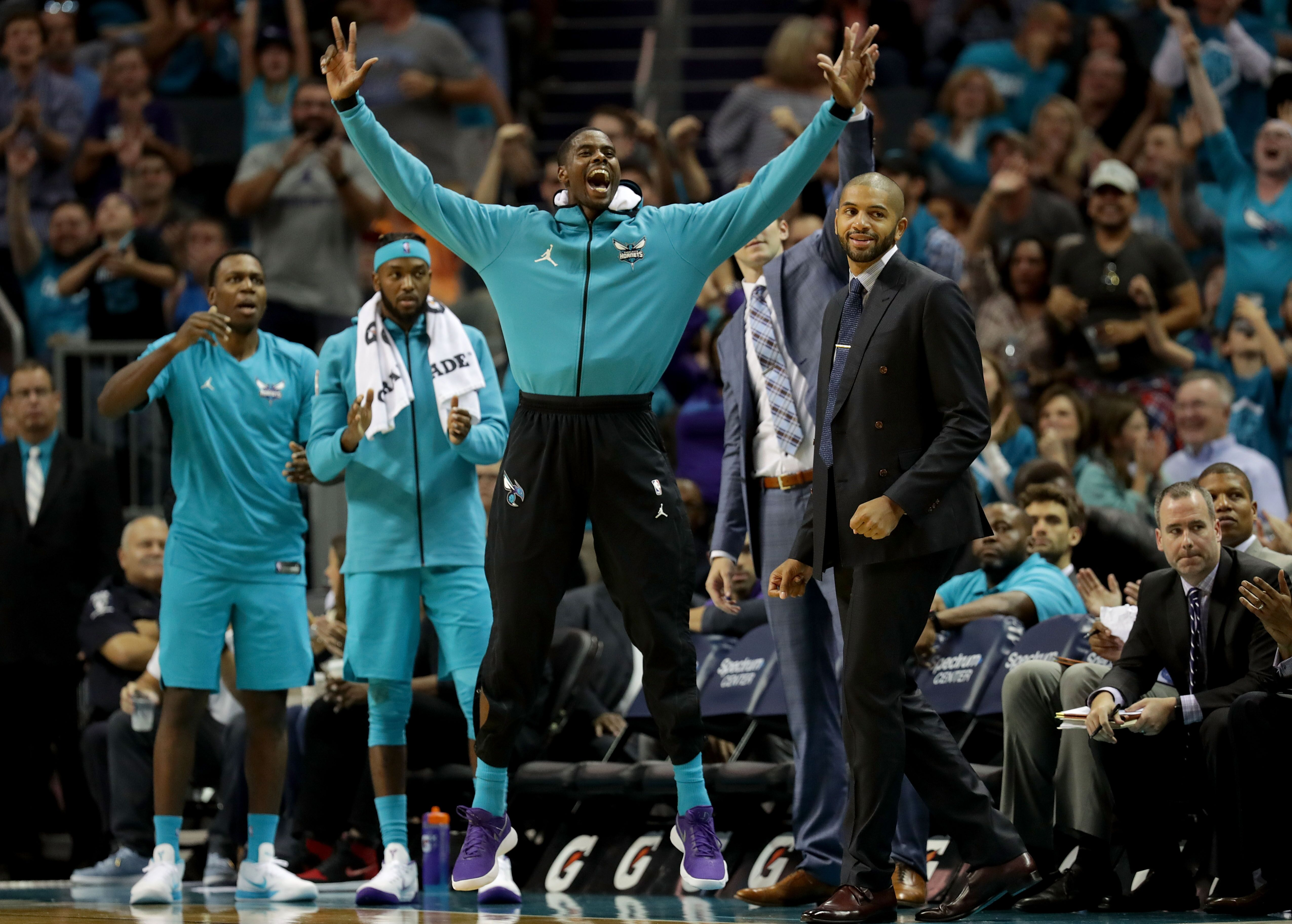 f427a88237a First impressions upon viewing Charlotte Hornets' 2018-19 Schedule