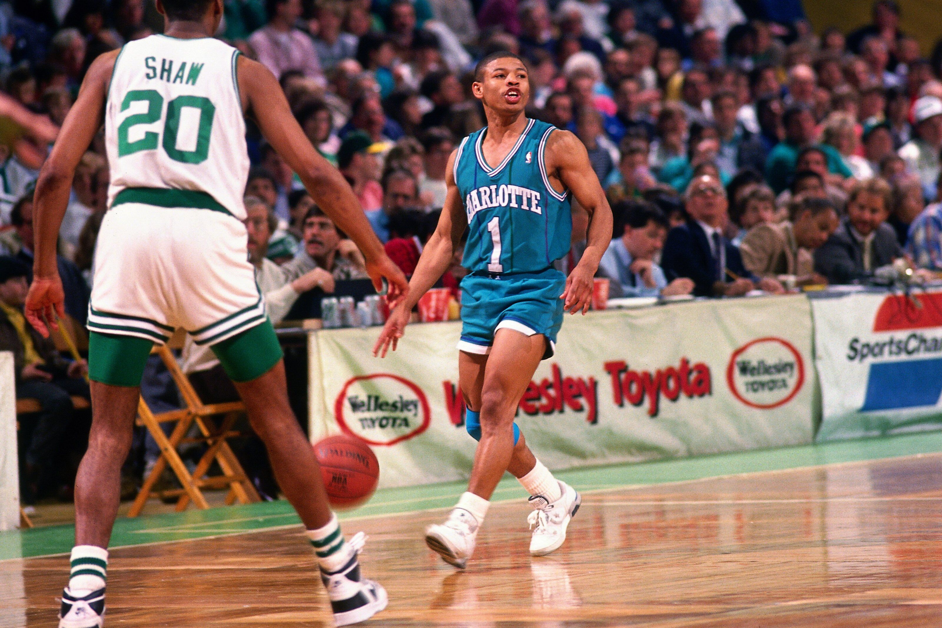 a1af1be1a64 Charlotte Hornets  A look back at team legend Muggsy Bogues
