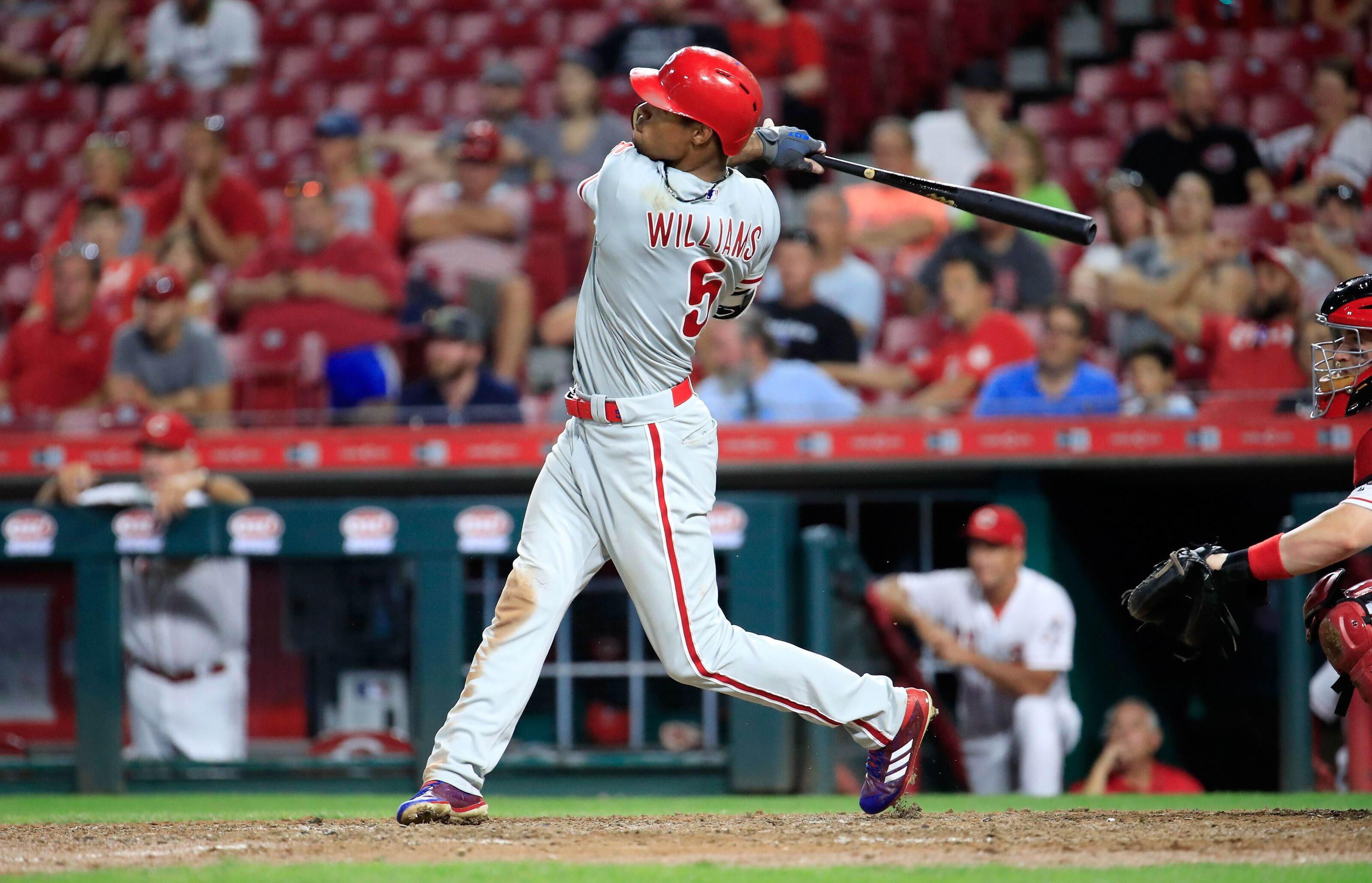 Phillies 2018 report card: Outfielder Nick Williams