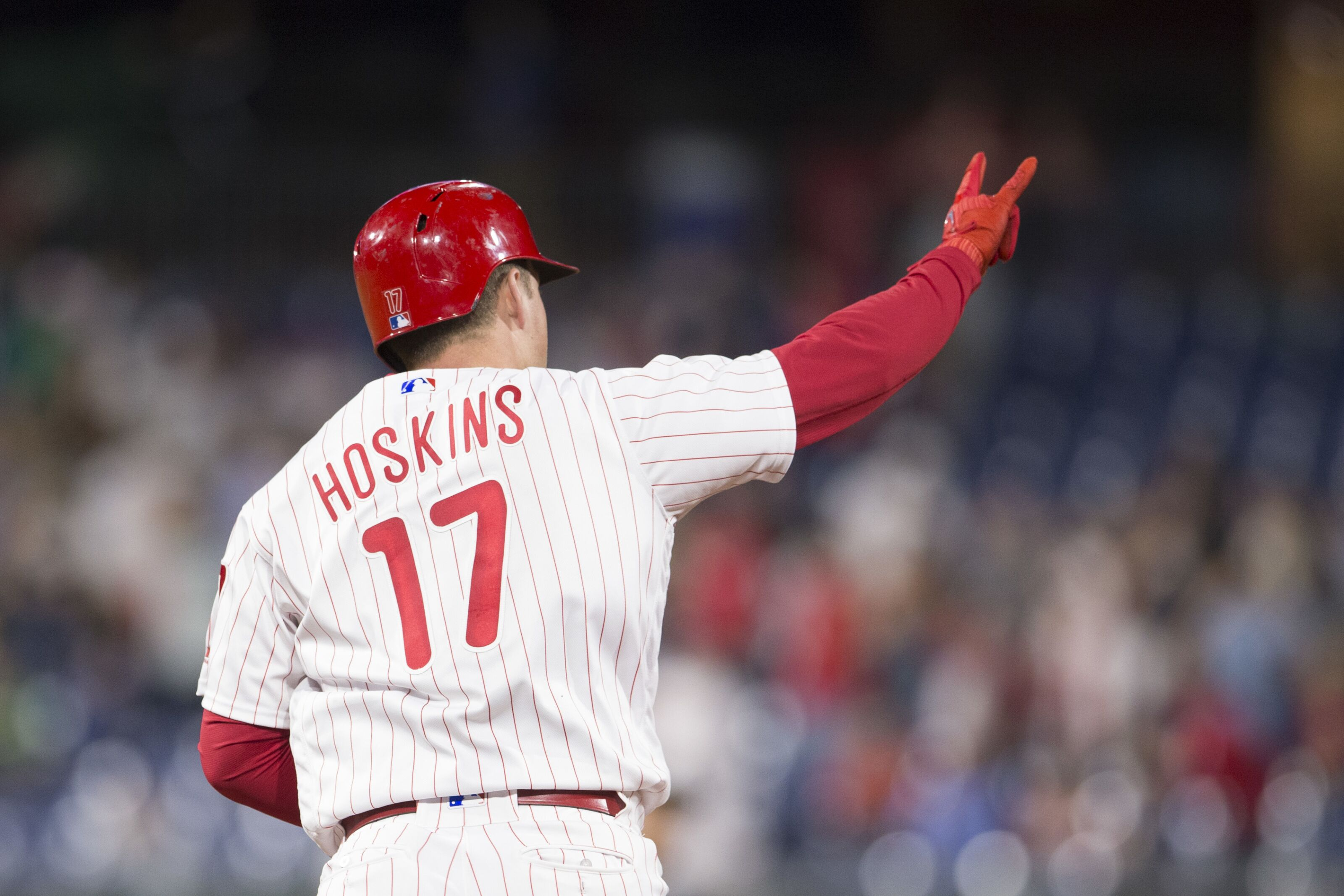 Phillies 2018 season report card: Left fielder Rhys Hoskins