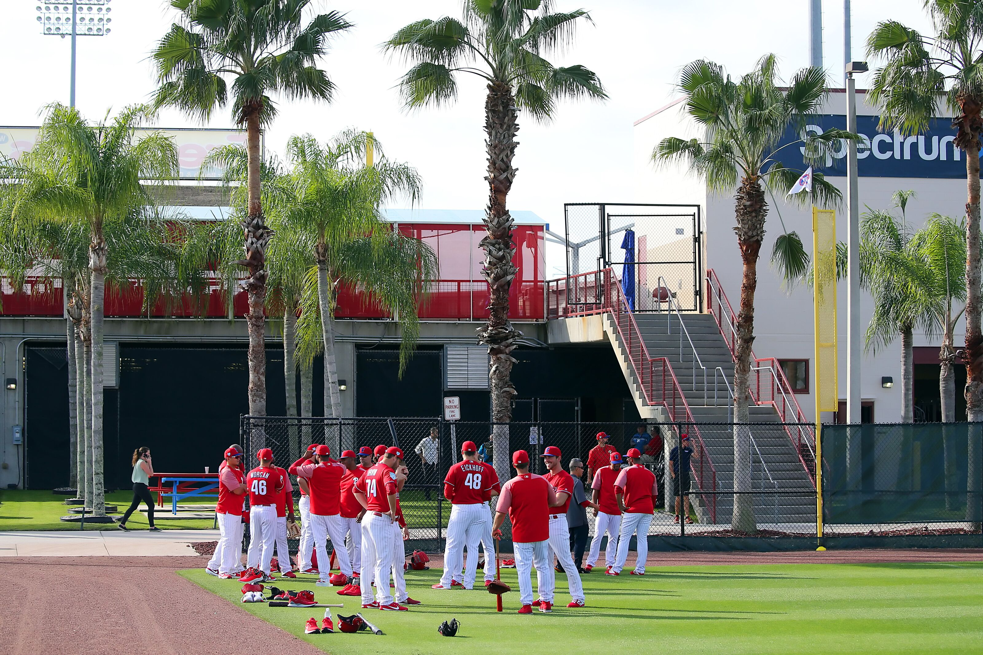 Phillies Spring Training Schedule, Pitchers and Catchers Reporting Date