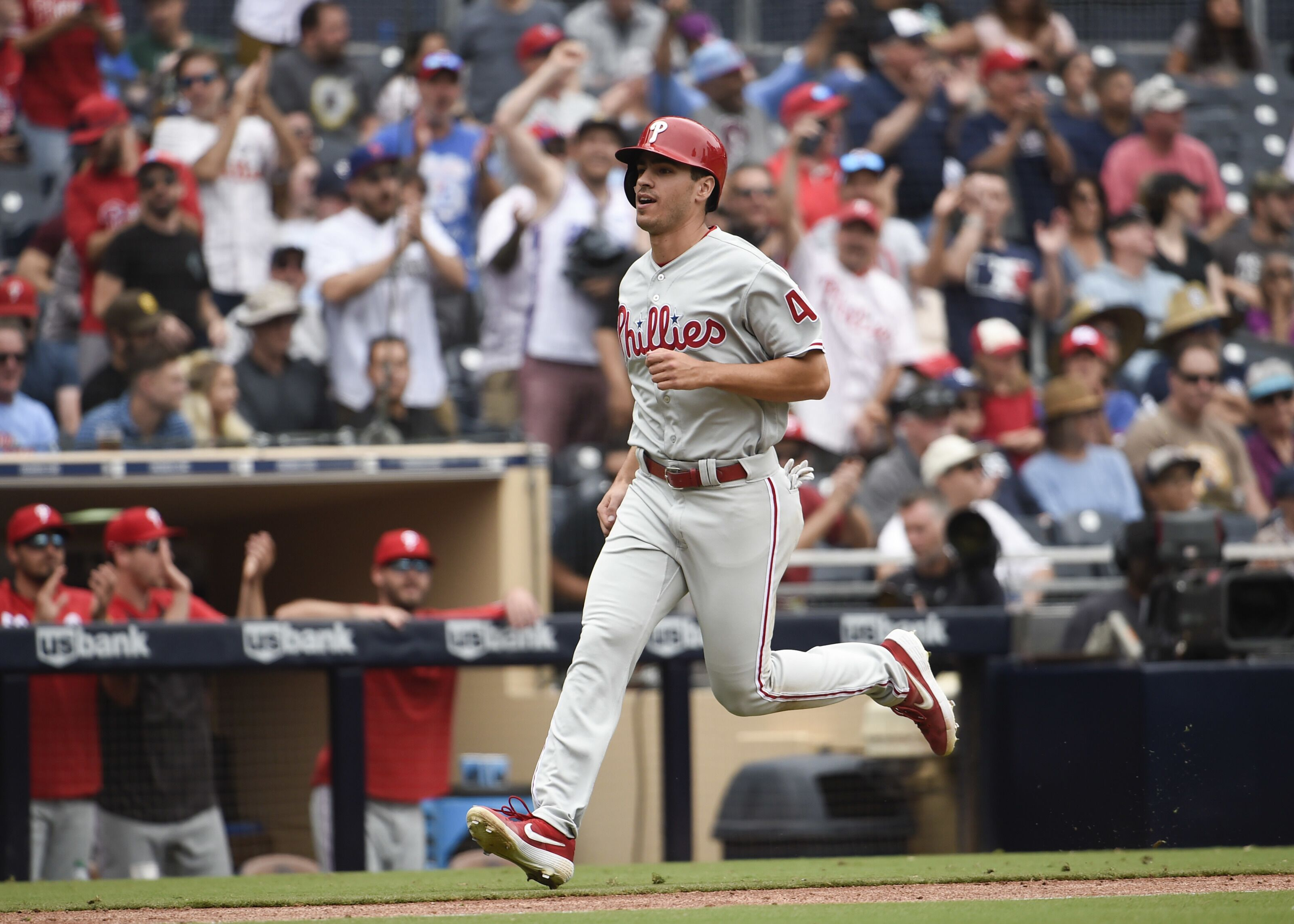 Phillies should play Adam Haseley until he gives a reason not to