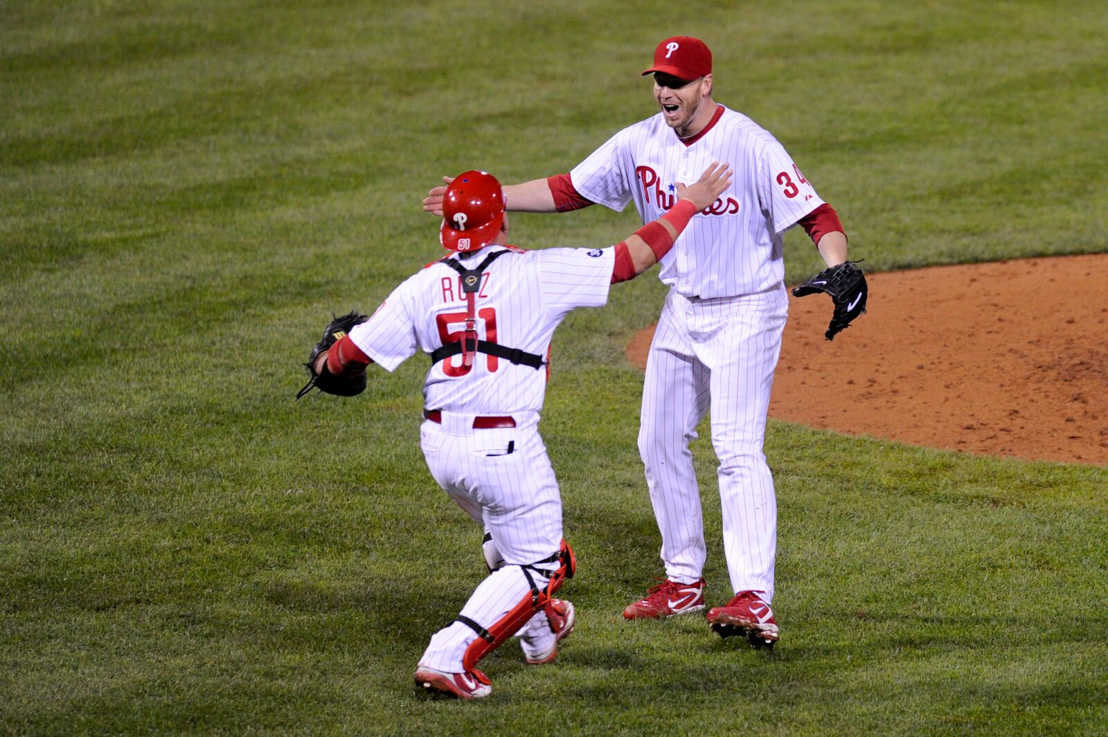 Phillies' Halladay Remains Latest to Throw Playoff No-Hitter