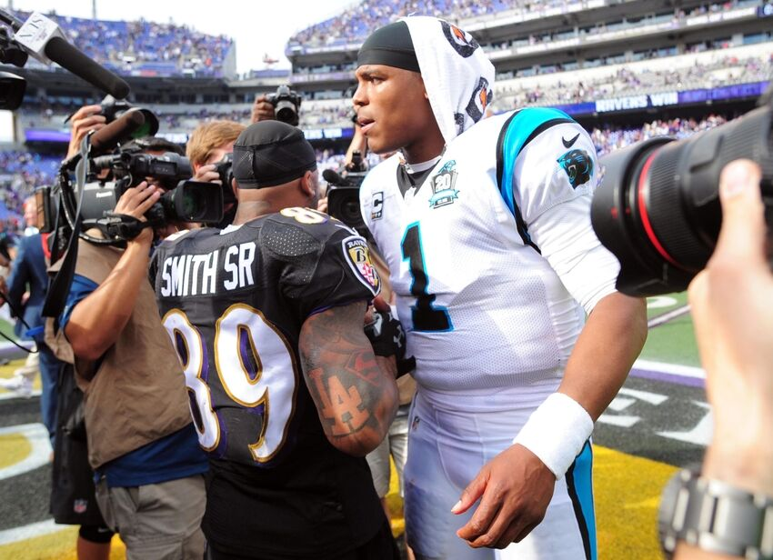 Baltimore Ravens vs Carolina Panthers  Position by Position Grades 2c9fc600f7