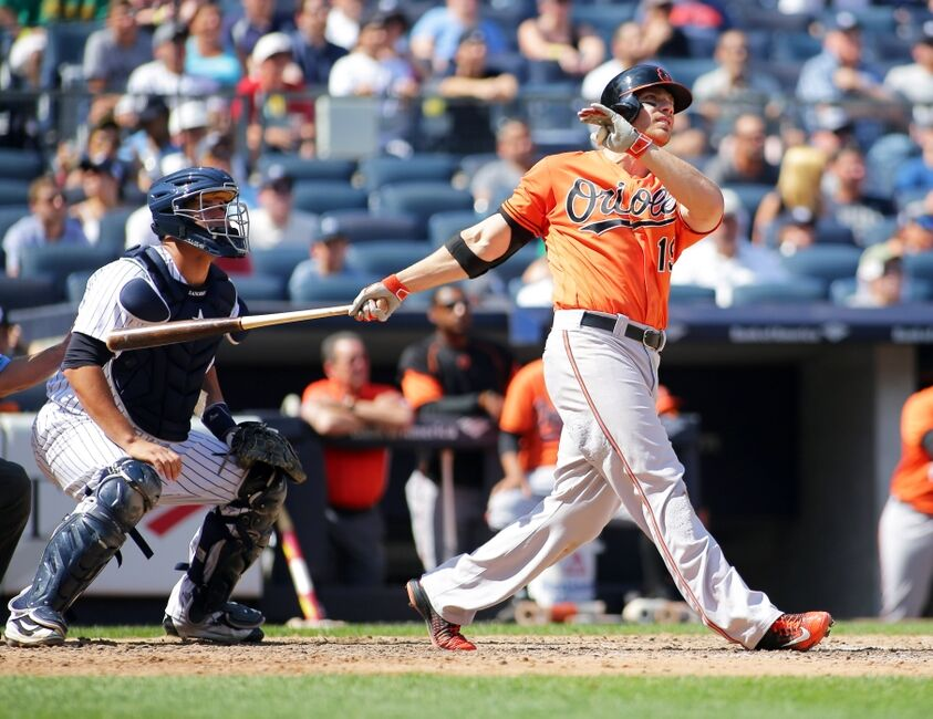 baltimore orioles the five best home run hitters of all time