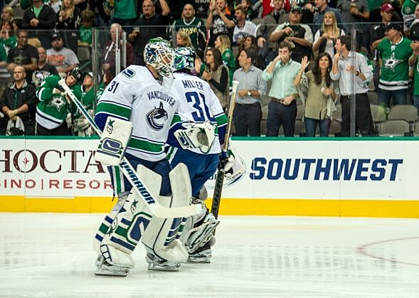 Vancouver Canucks Pull Ryan Miller After Poor Performance in Dallas
