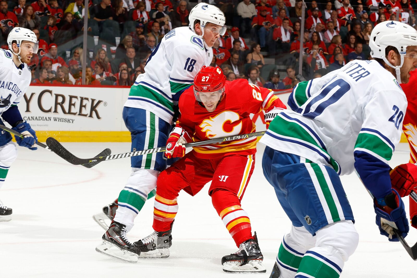Vancouver Canucks gameday: In search of first win vs. Calgary