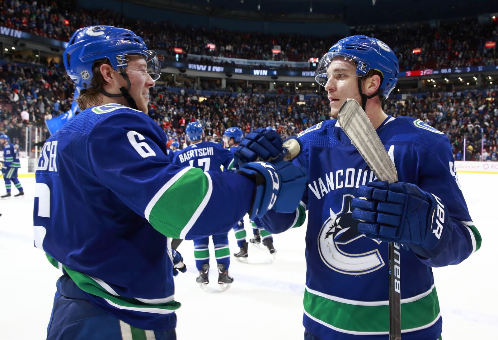 Vancouver Canucks in March  Their biggest month in years 4c6f474c9