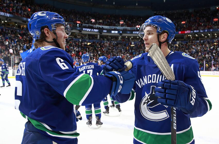 Vancouver Canucks In March Their Biggest Month In Years